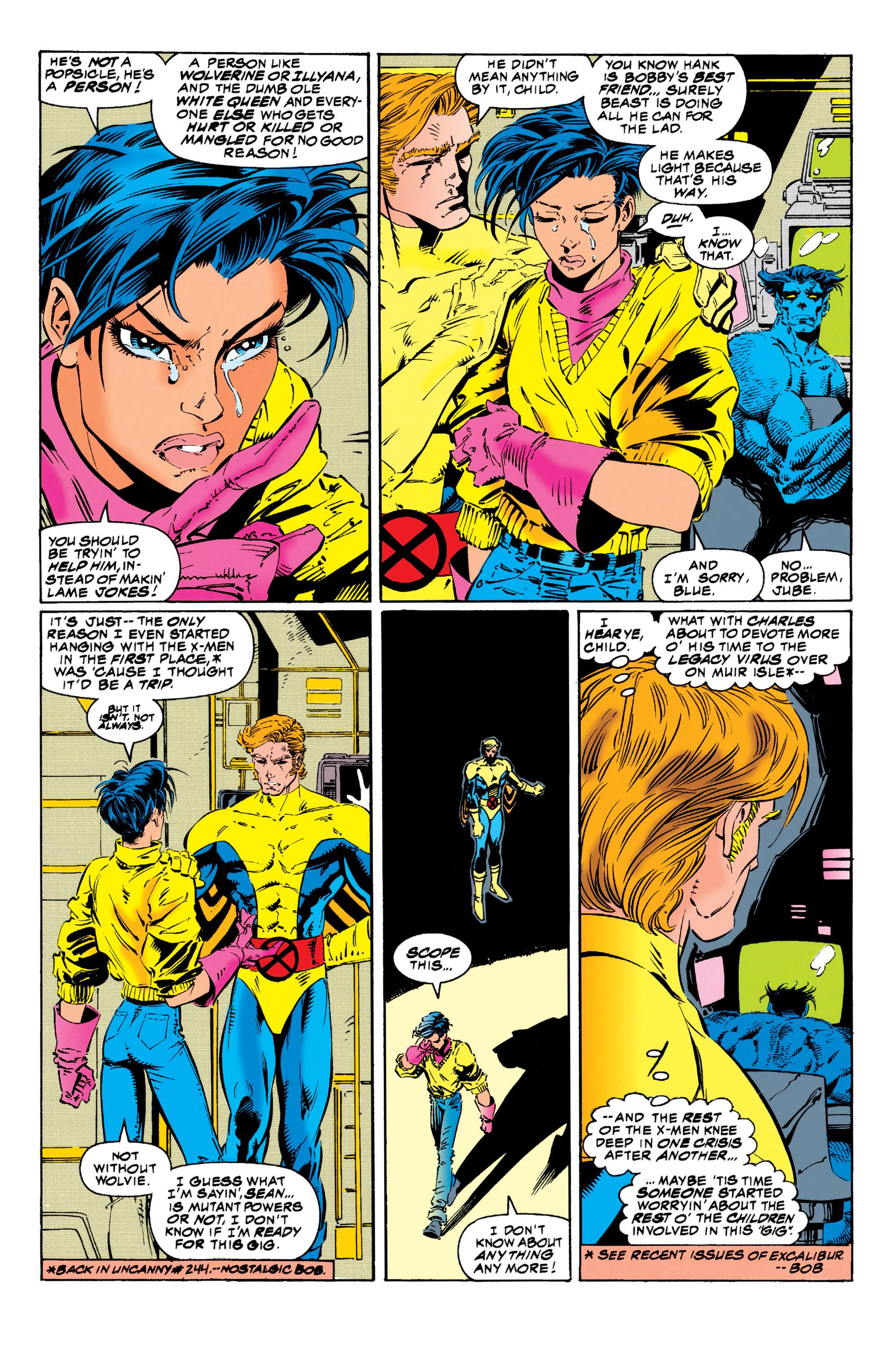 Read online Uncanny X-Men (1963) comic -  Issue #313 - 8