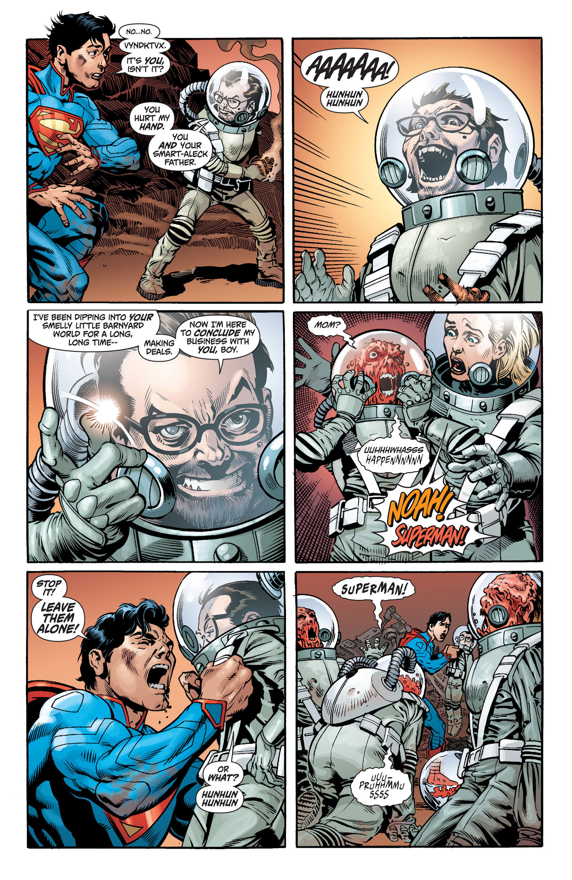 Read online Action Comics (2011) comic -  Issue #14 - 22