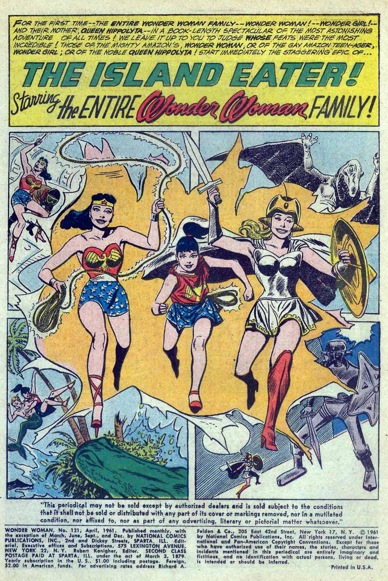 Read online Wonder Woman (1942) comic -  Issue #121 - 3