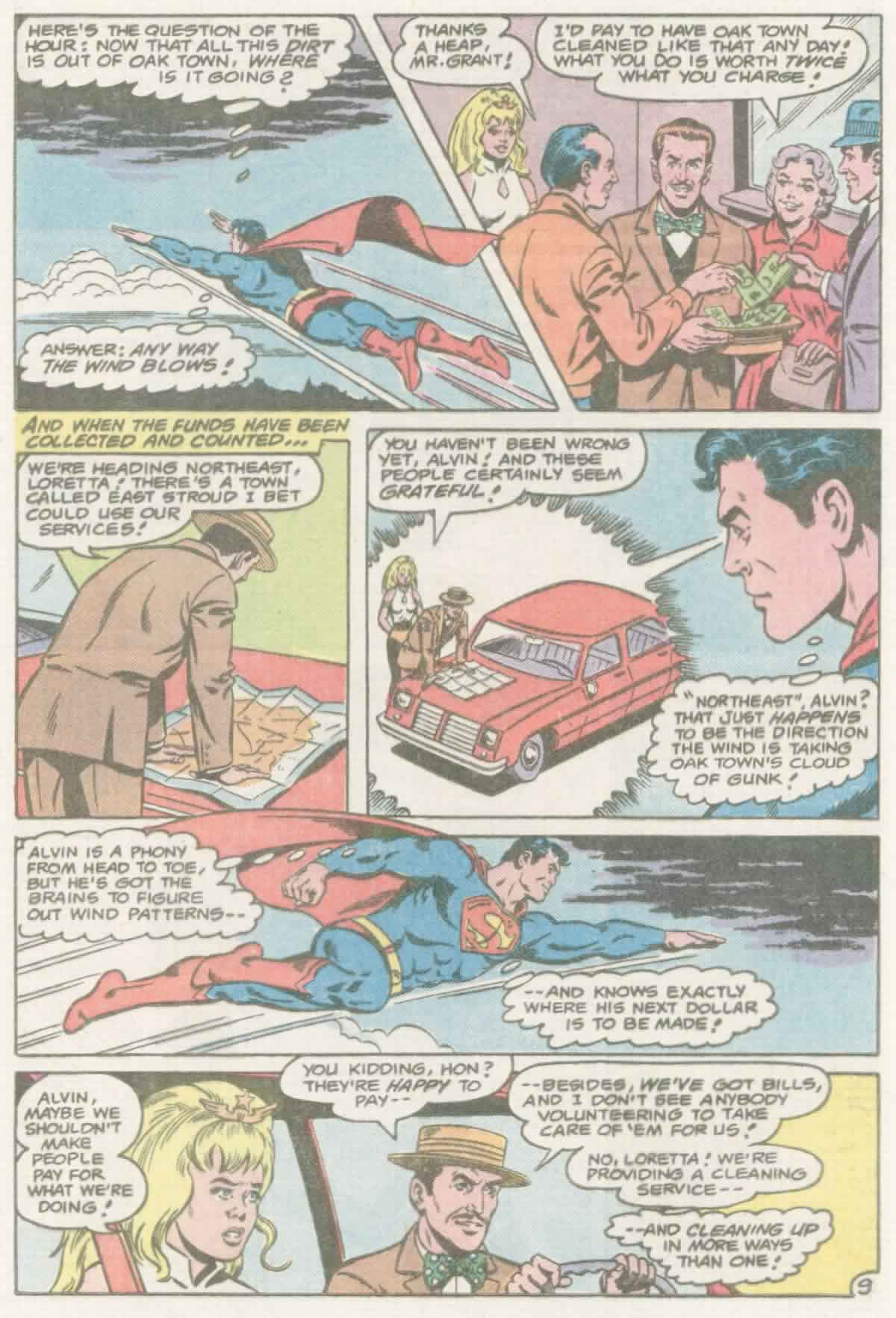 Read online Action Comics (1938) comic -  Issue #559 - 10