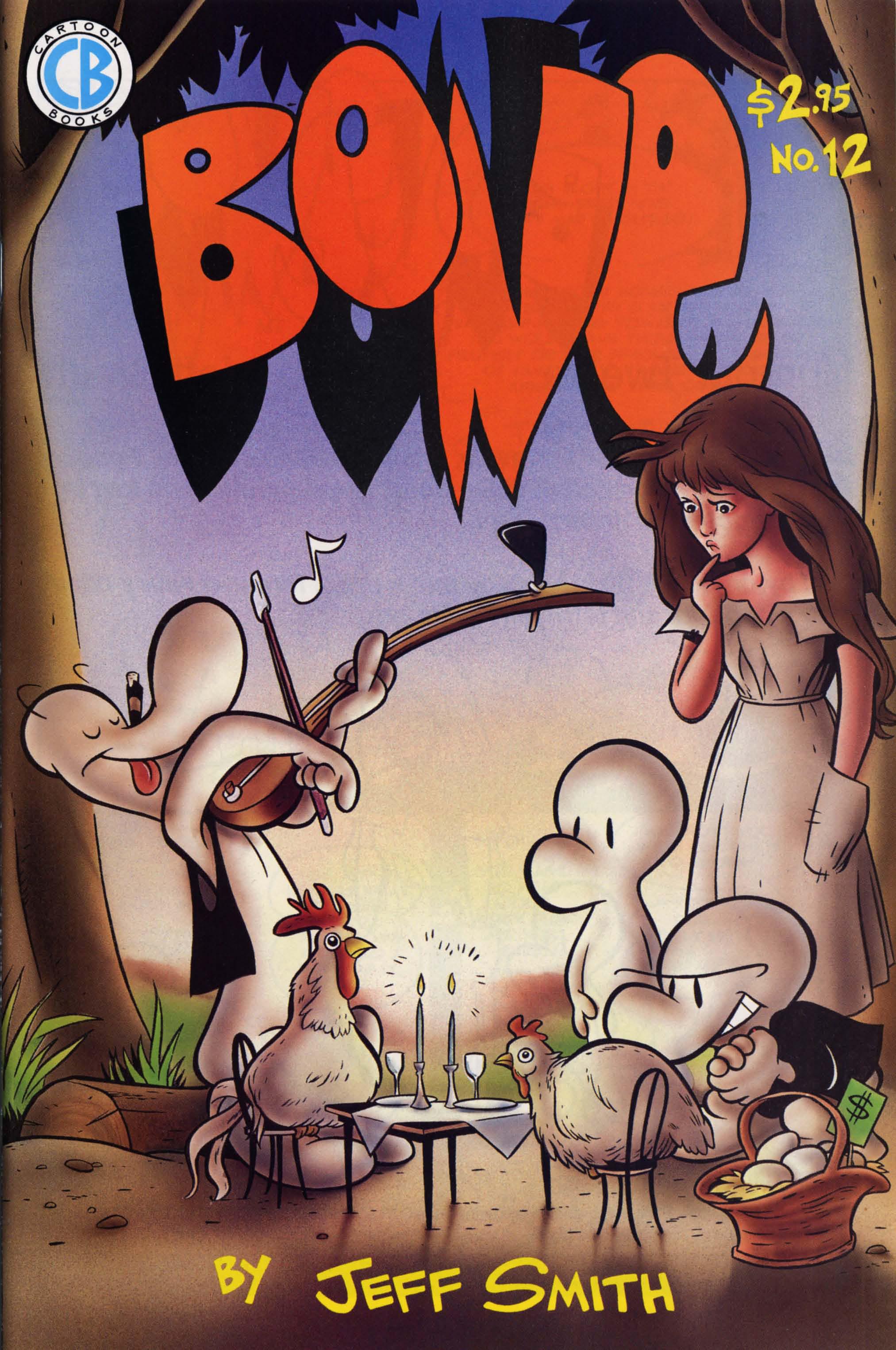 Bone 1991 Issue 12