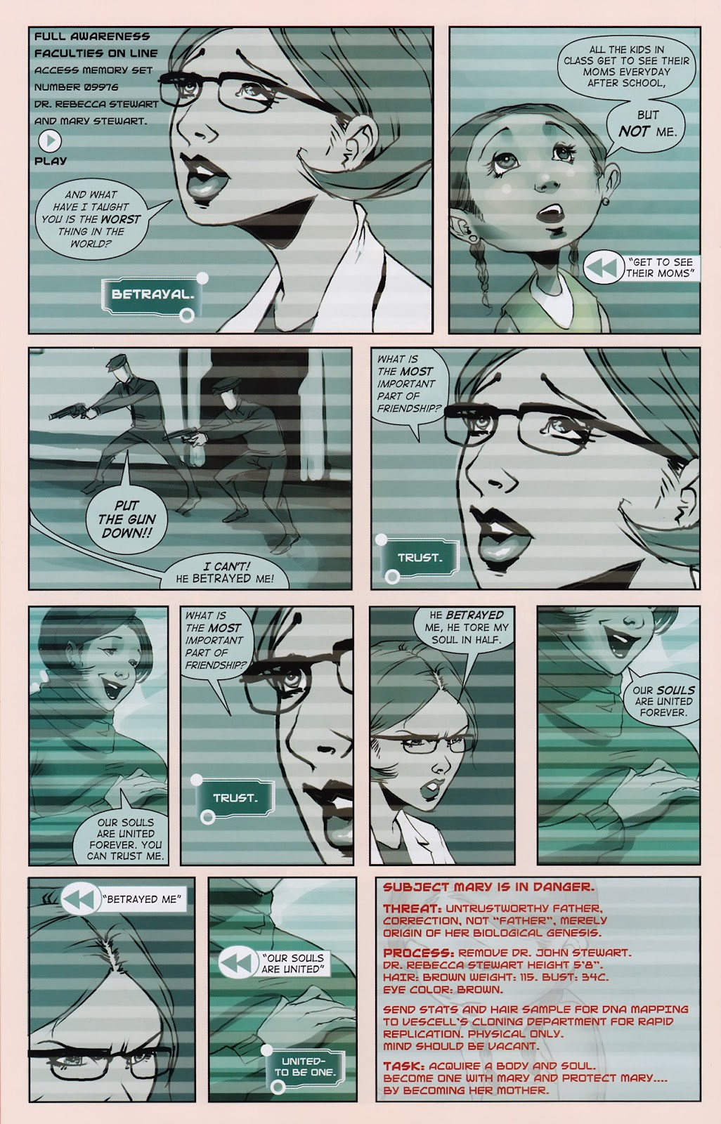 Read online Vescell comic -  Issue #2 - 18
