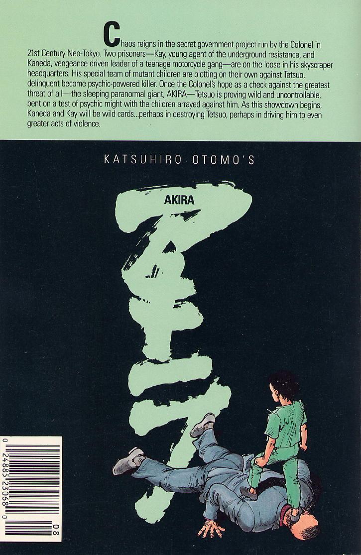 Read online Akira comic -  Issue #8 - 68