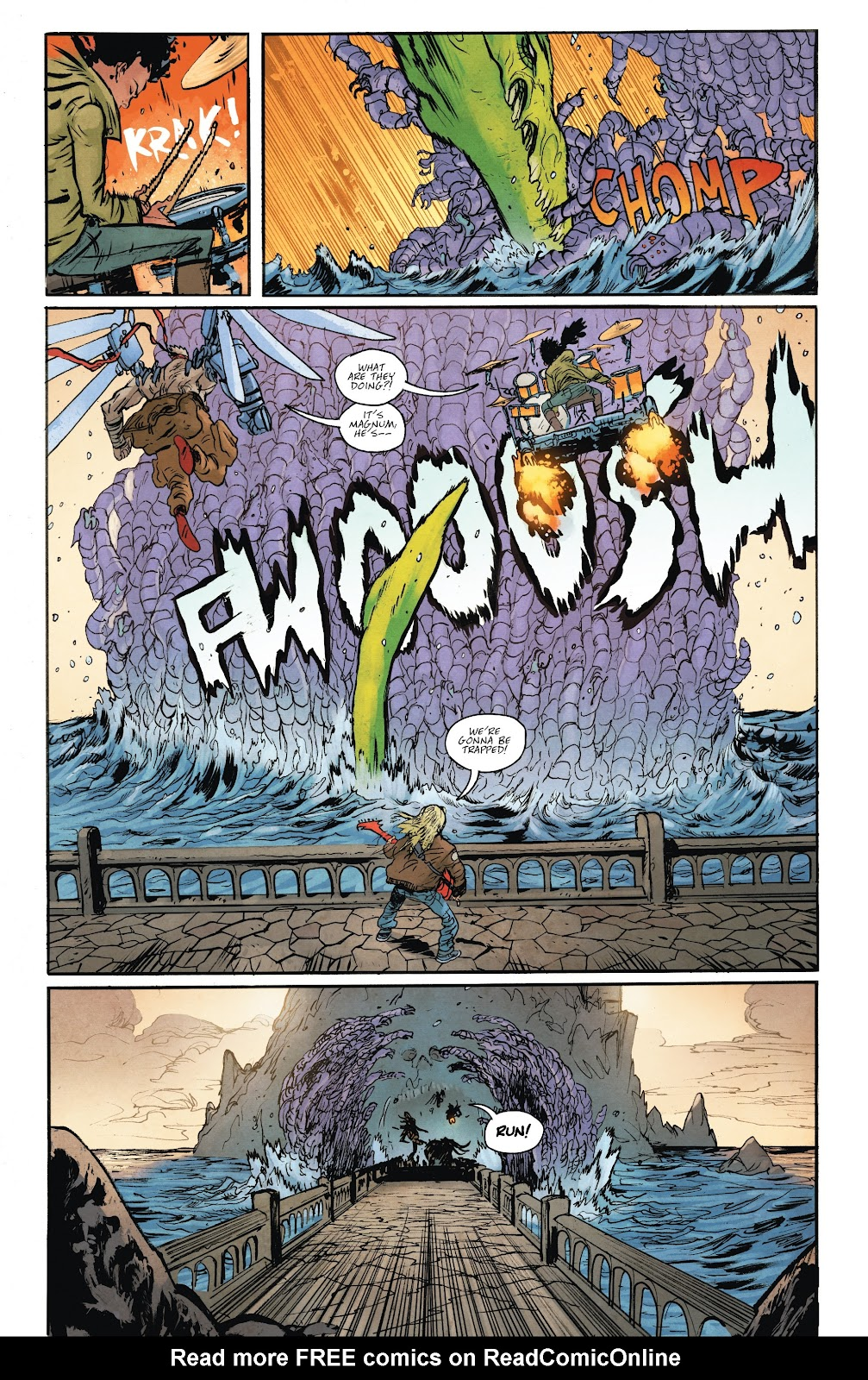 Read online Murder Falcon comic -  Issue #6 - 10
