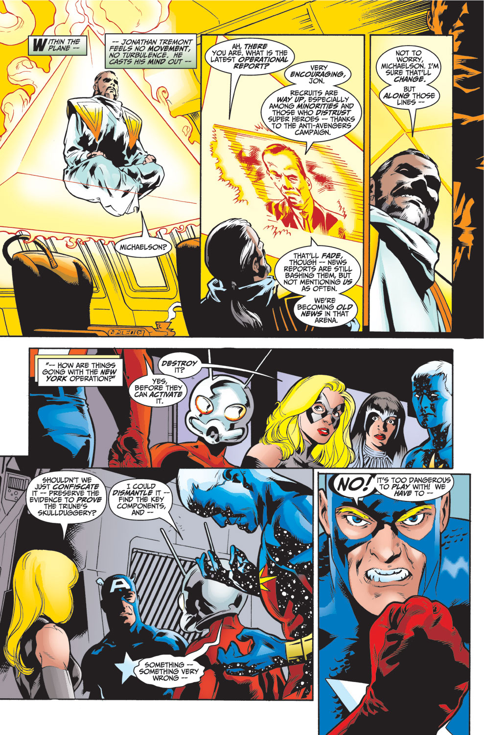 Read online Avengers (1998) comic -  Issue #26 - 13