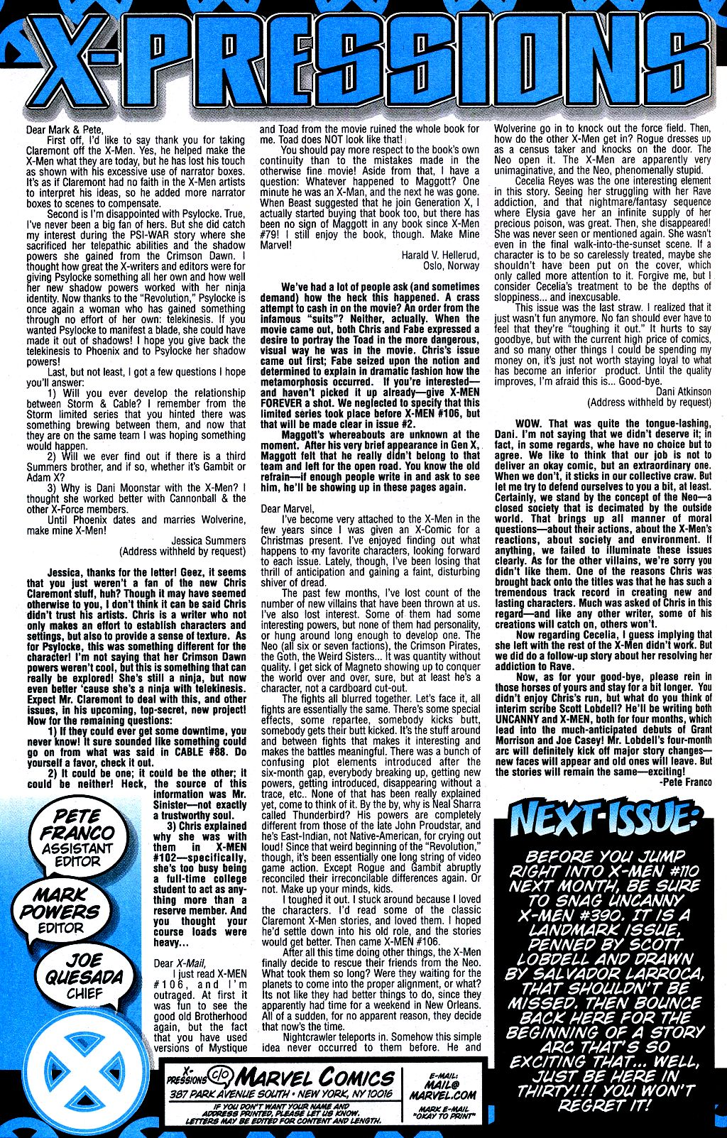 X-Men (1991) 109 Page 23