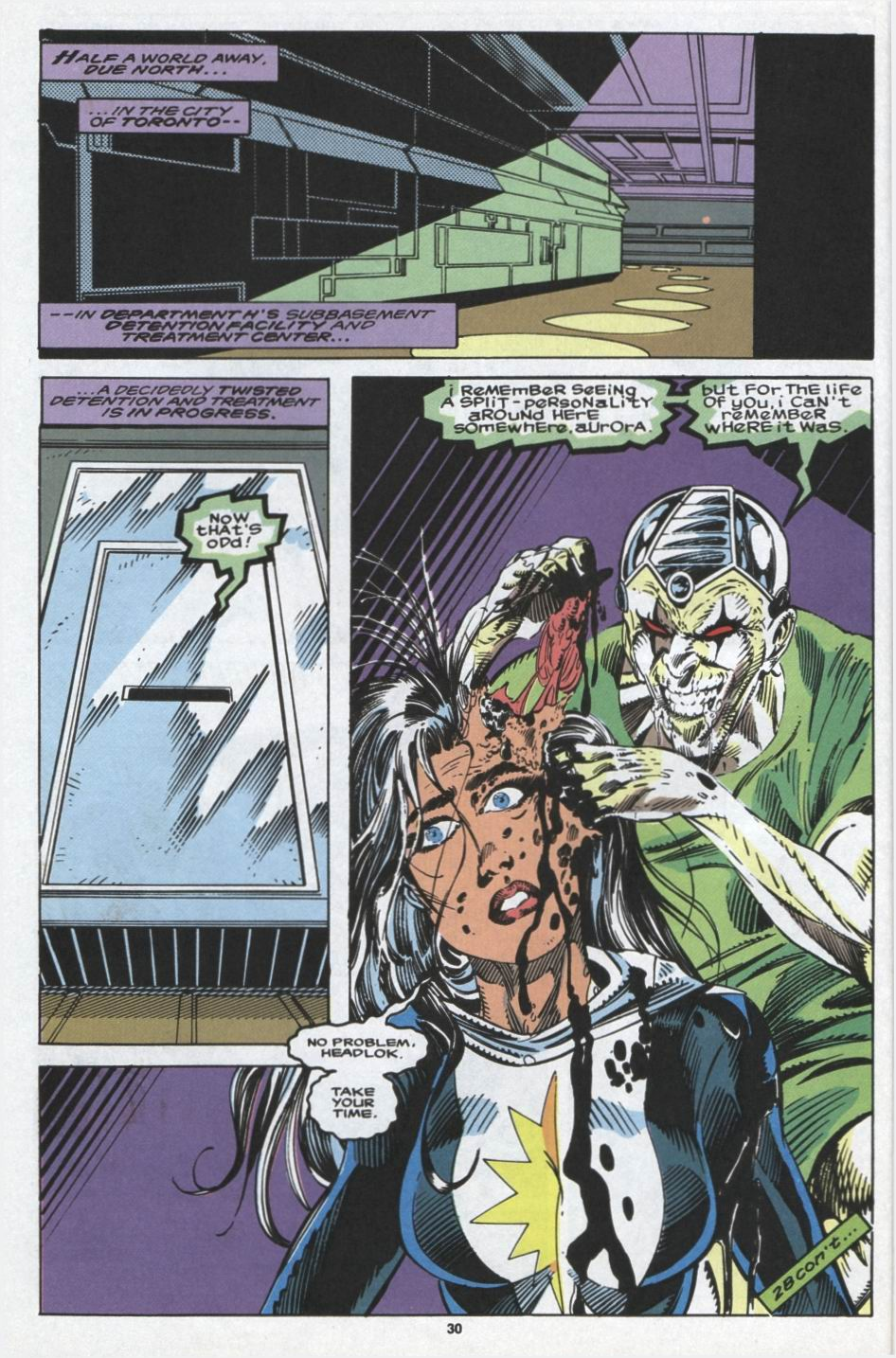 Read online Alpha Flight (1983) comic -  Issue #103 - 23