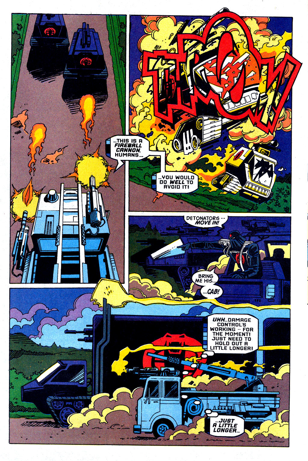 Read online Transformers: Generation 2 comic -  Issue #2 - 8