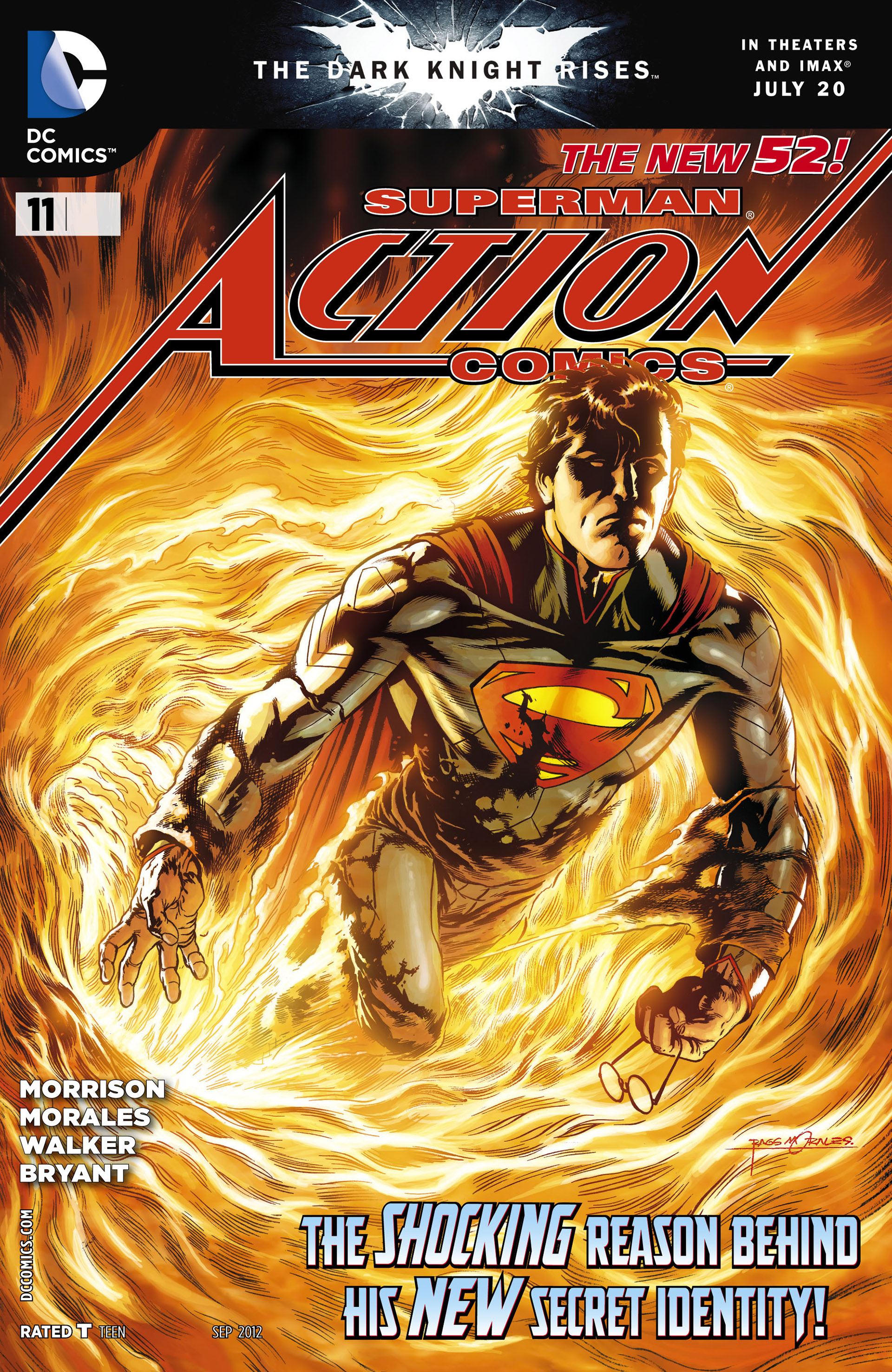 Read online Action Comics (2011) comic -  Issue #11 - 1