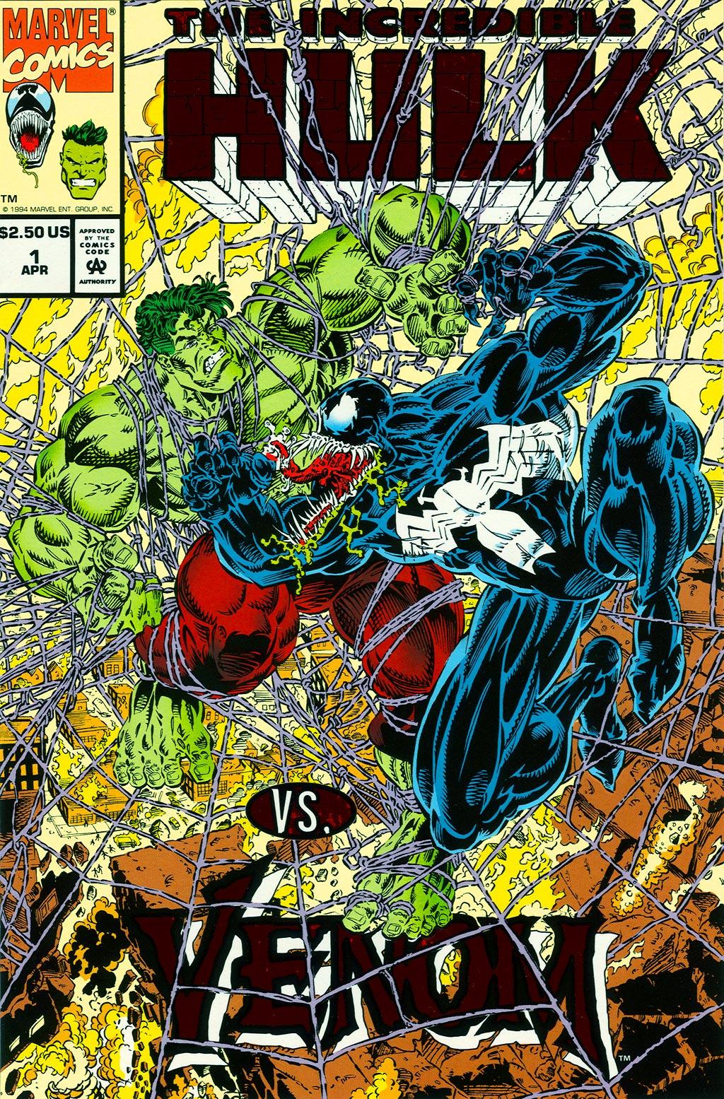 The Incredible Hulk vs. Venom Full Page 1