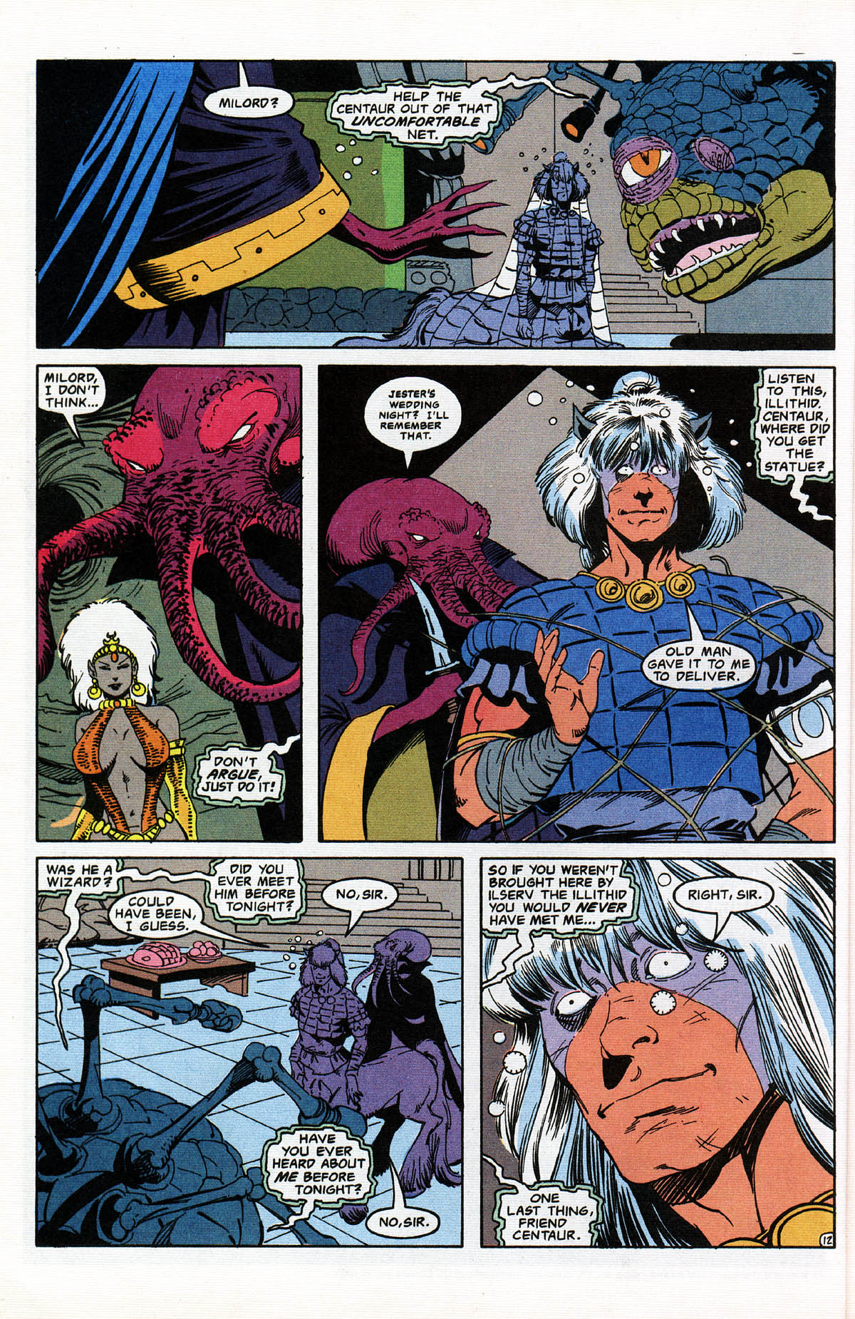 Read online Advanced Dungeons & Dragons comic -  Issue #11 - 15