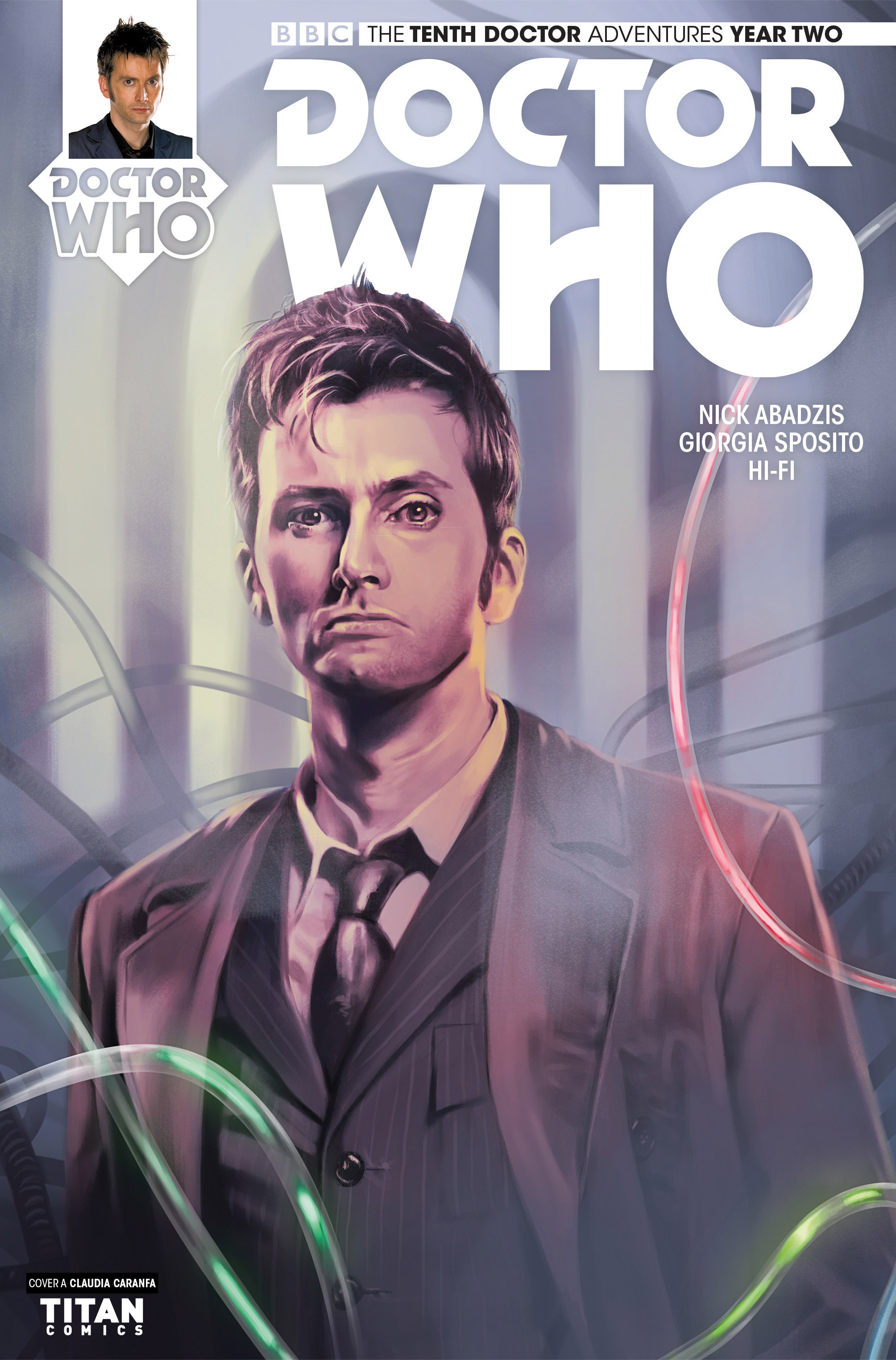 Doctor Who: The Tenth Doctor Year Two 16 Page 1