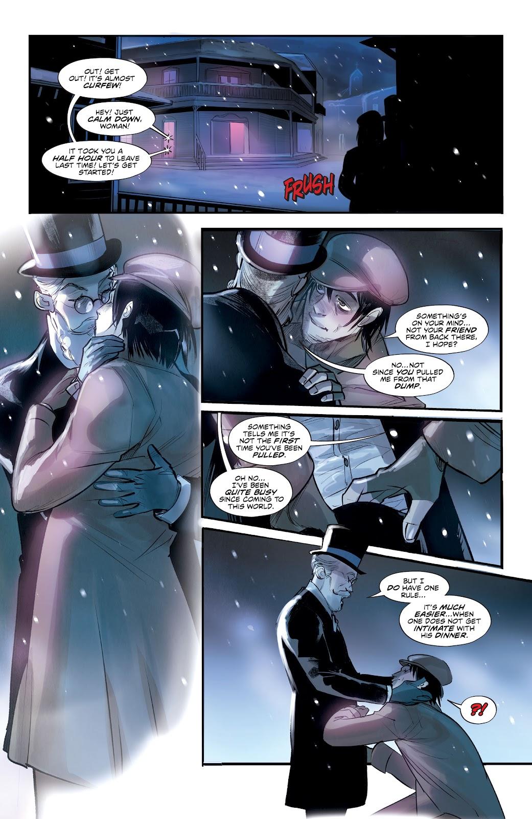 Read online Mirka Andolfo's Mercy comic -  Issue #3 - 24