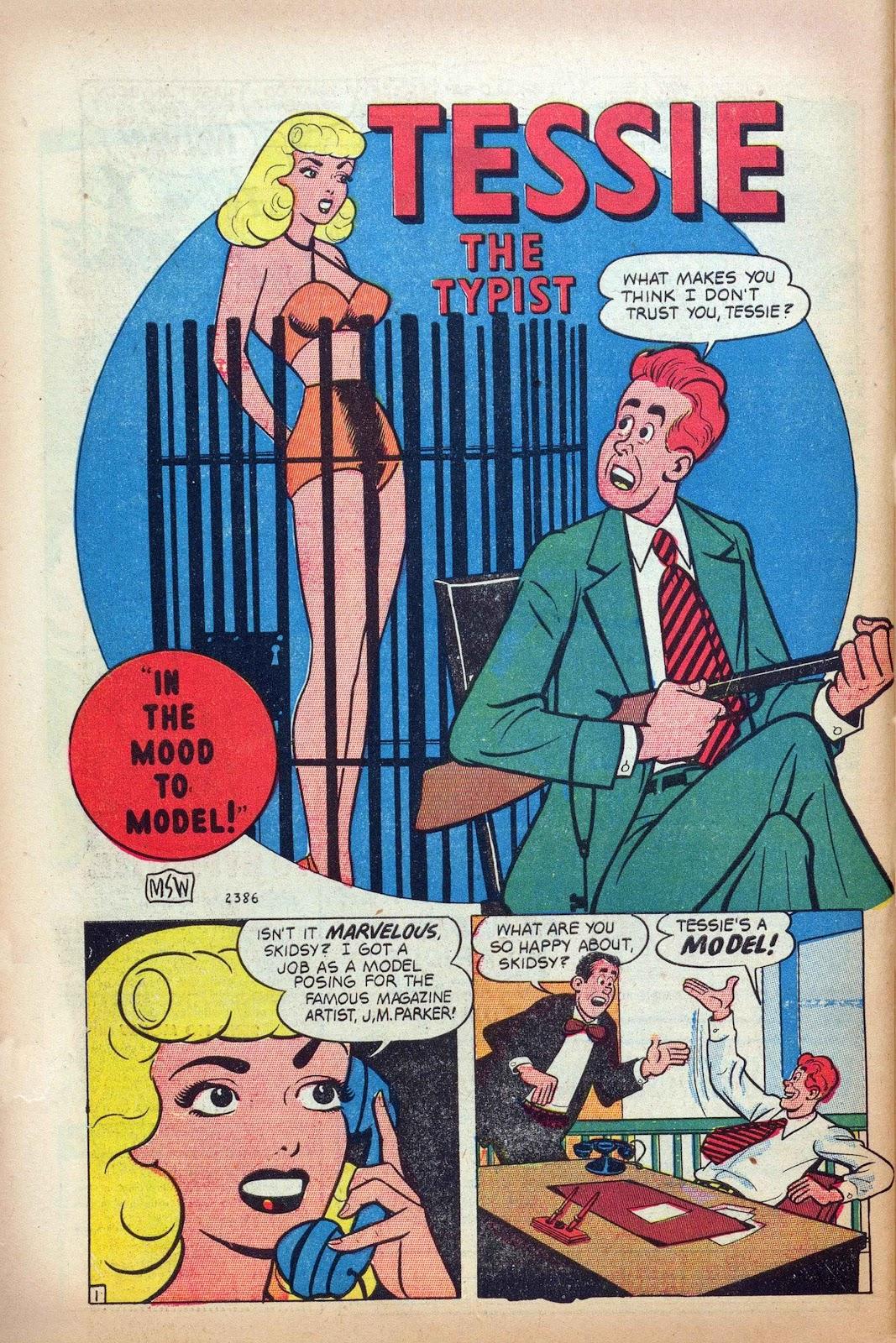 Tessie the Typist issue 16 - Page 44