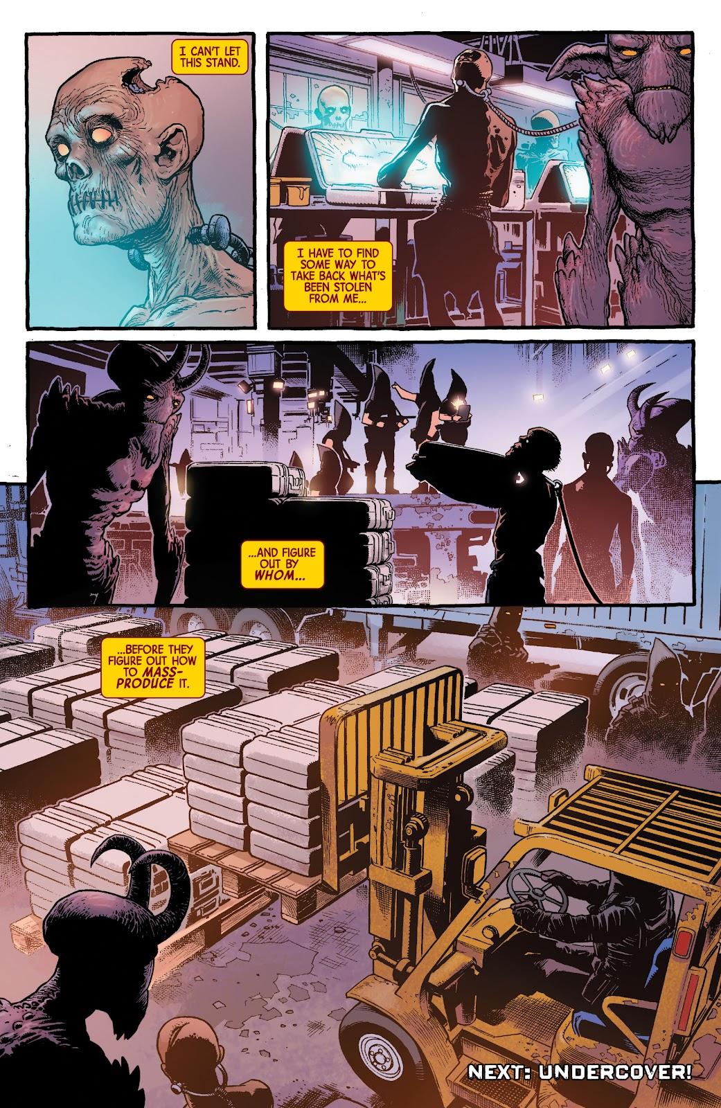 Read online Dr. Strange comic -  Issue #4 - 21