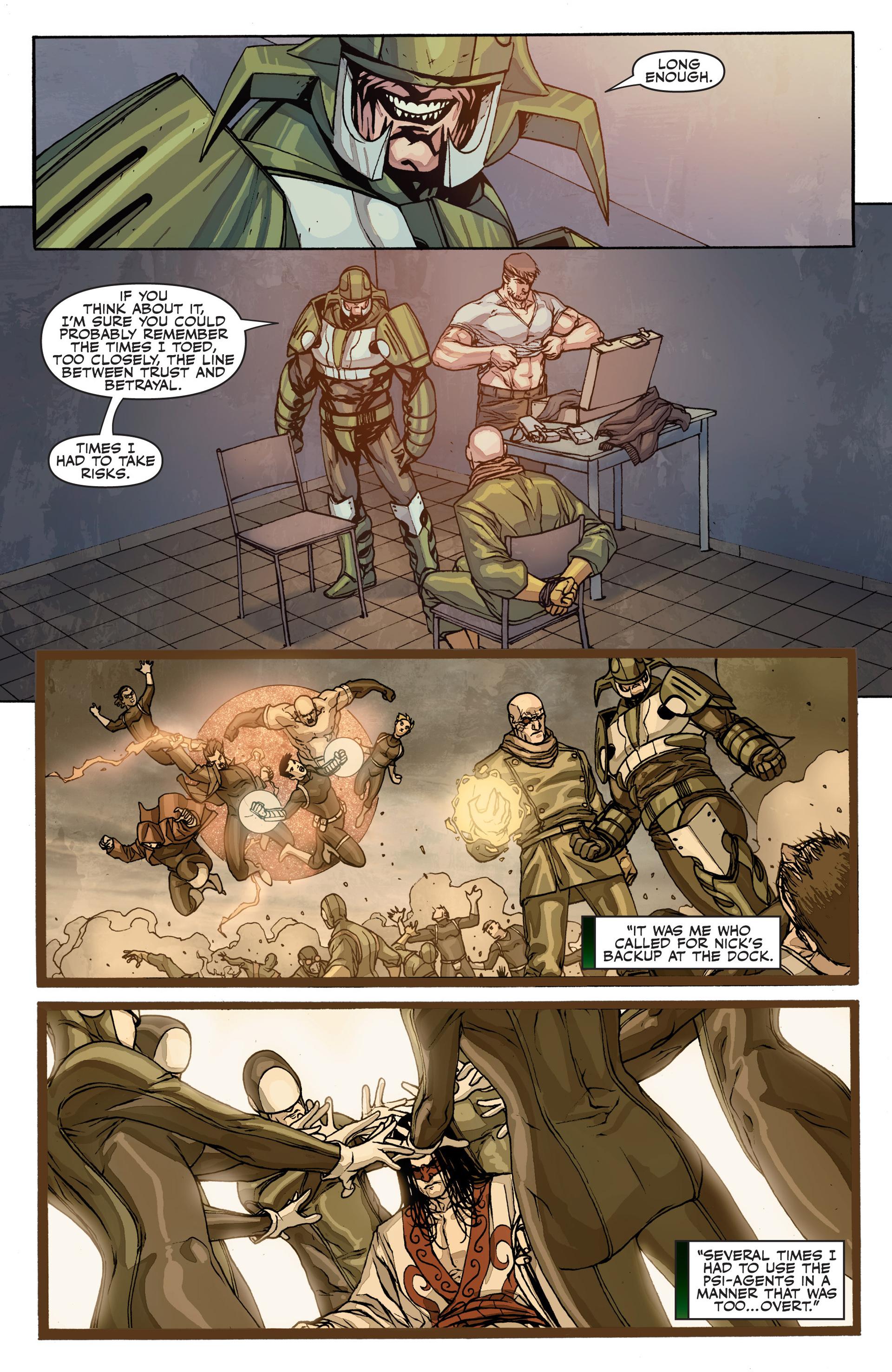 Read online Secret Warriors comic -  Issue #26 - 17