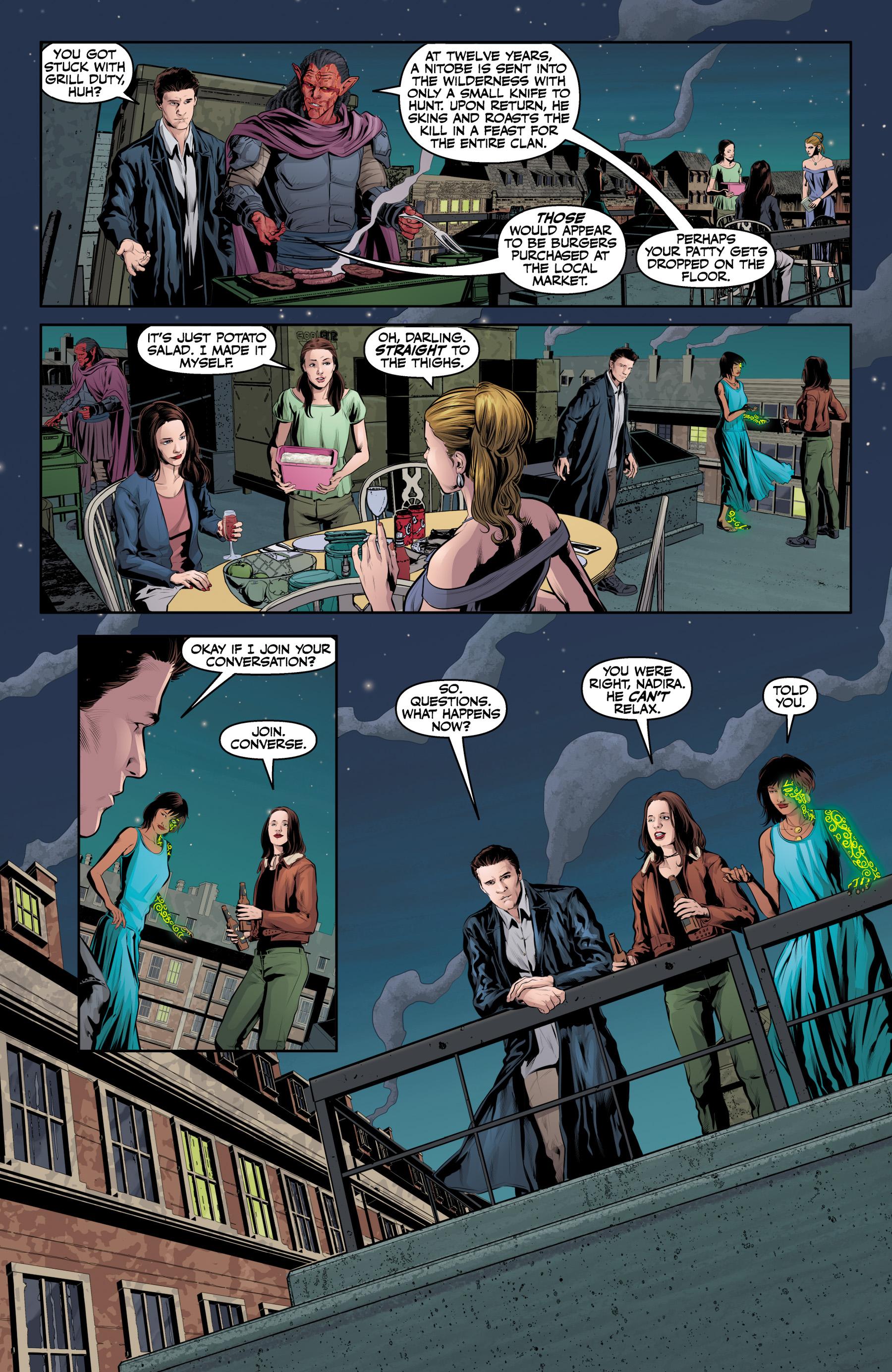 Read online Angel & Faith Season 10 comic -  Issue #25 - 19