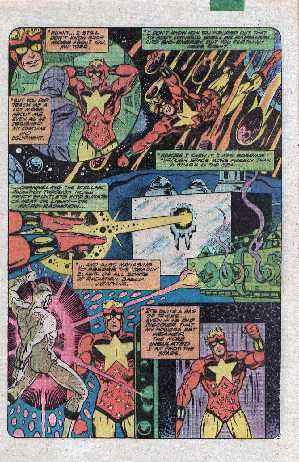 Read online Adventure Comics (1938) comic -  Issue #470 - 9