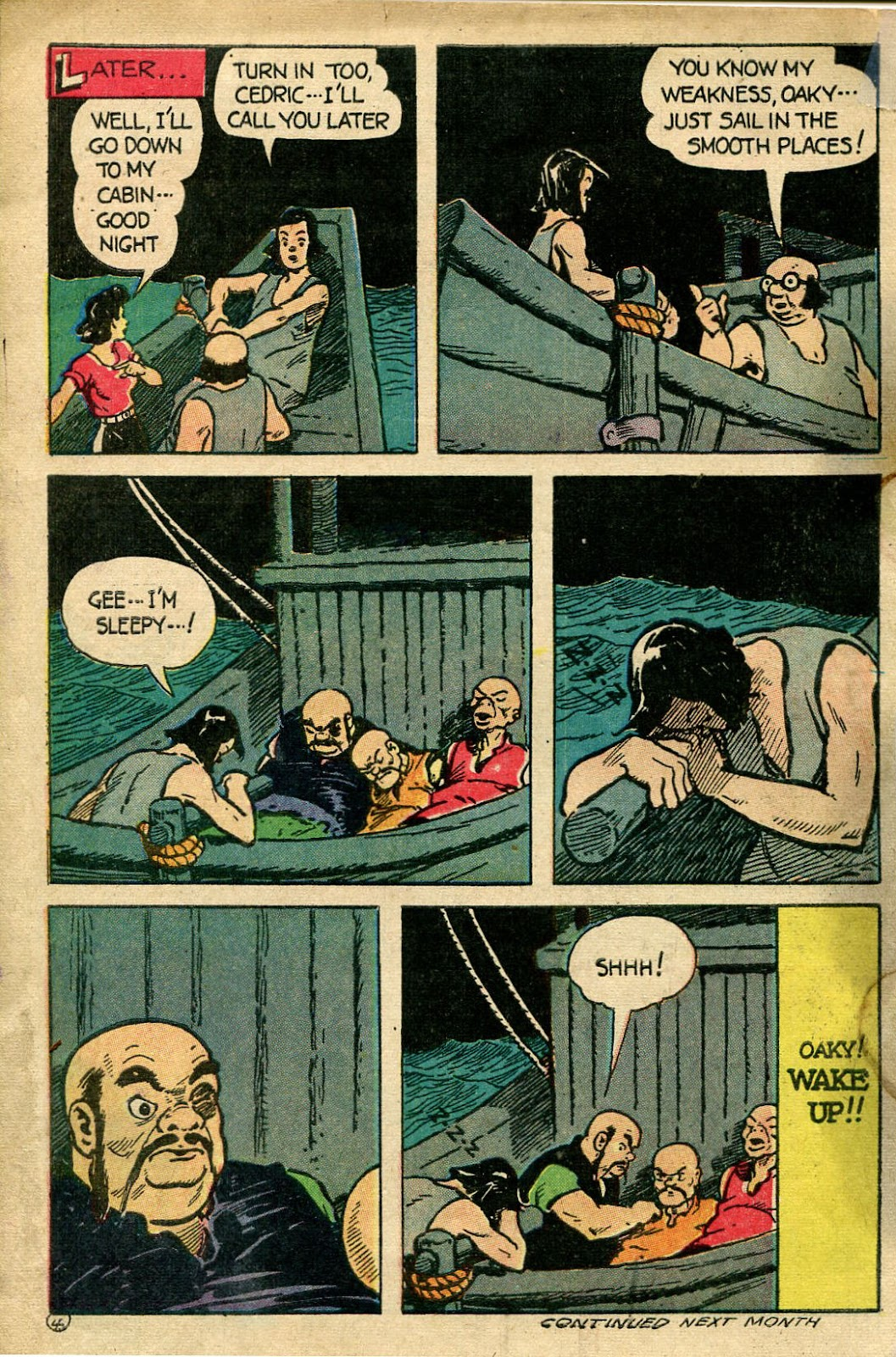 Read online Famous Funnies comic -  Issue #135 - 34
