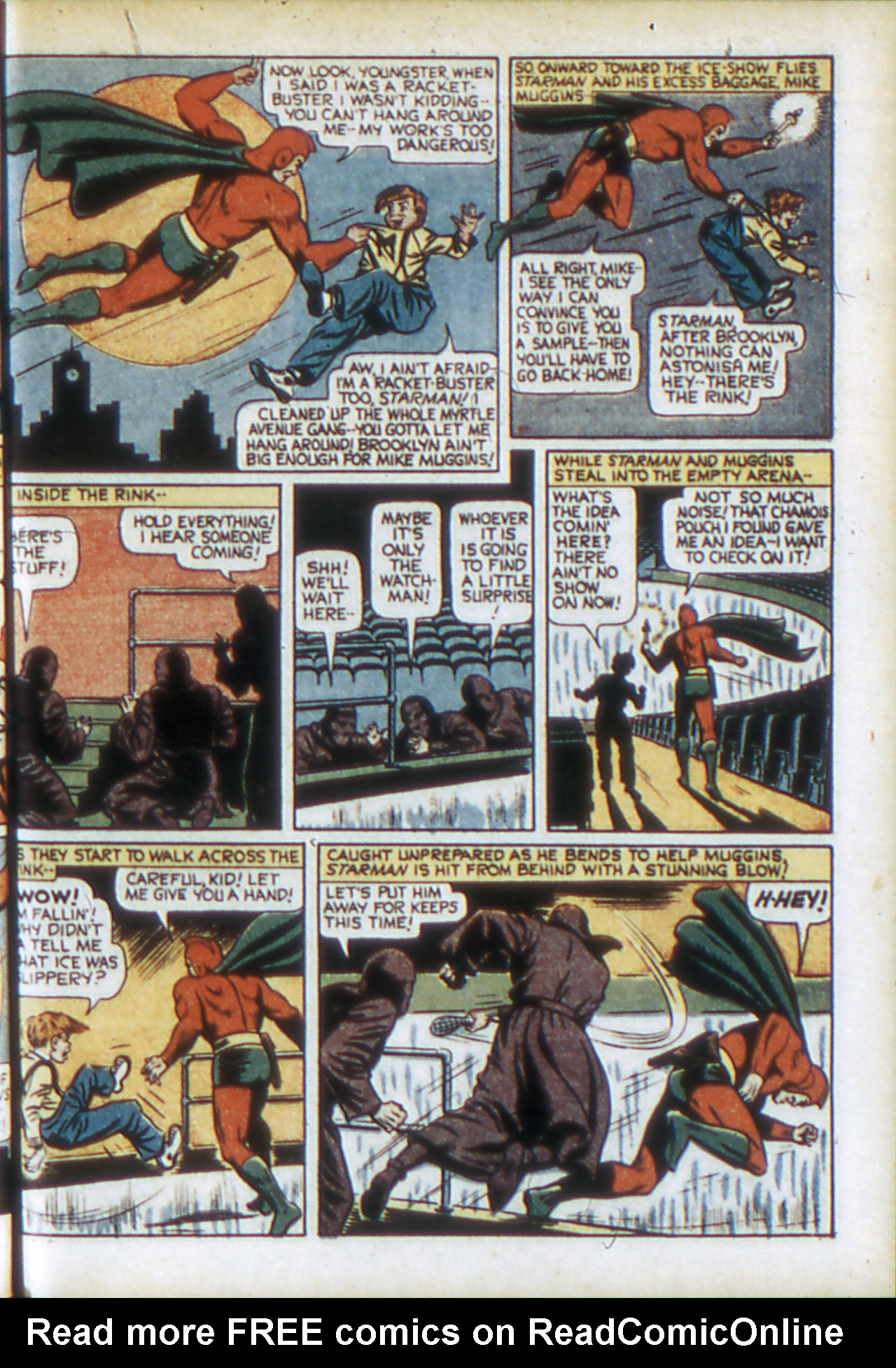 Read online Adventure Comics (1938) comic -  Issue #78 - 10