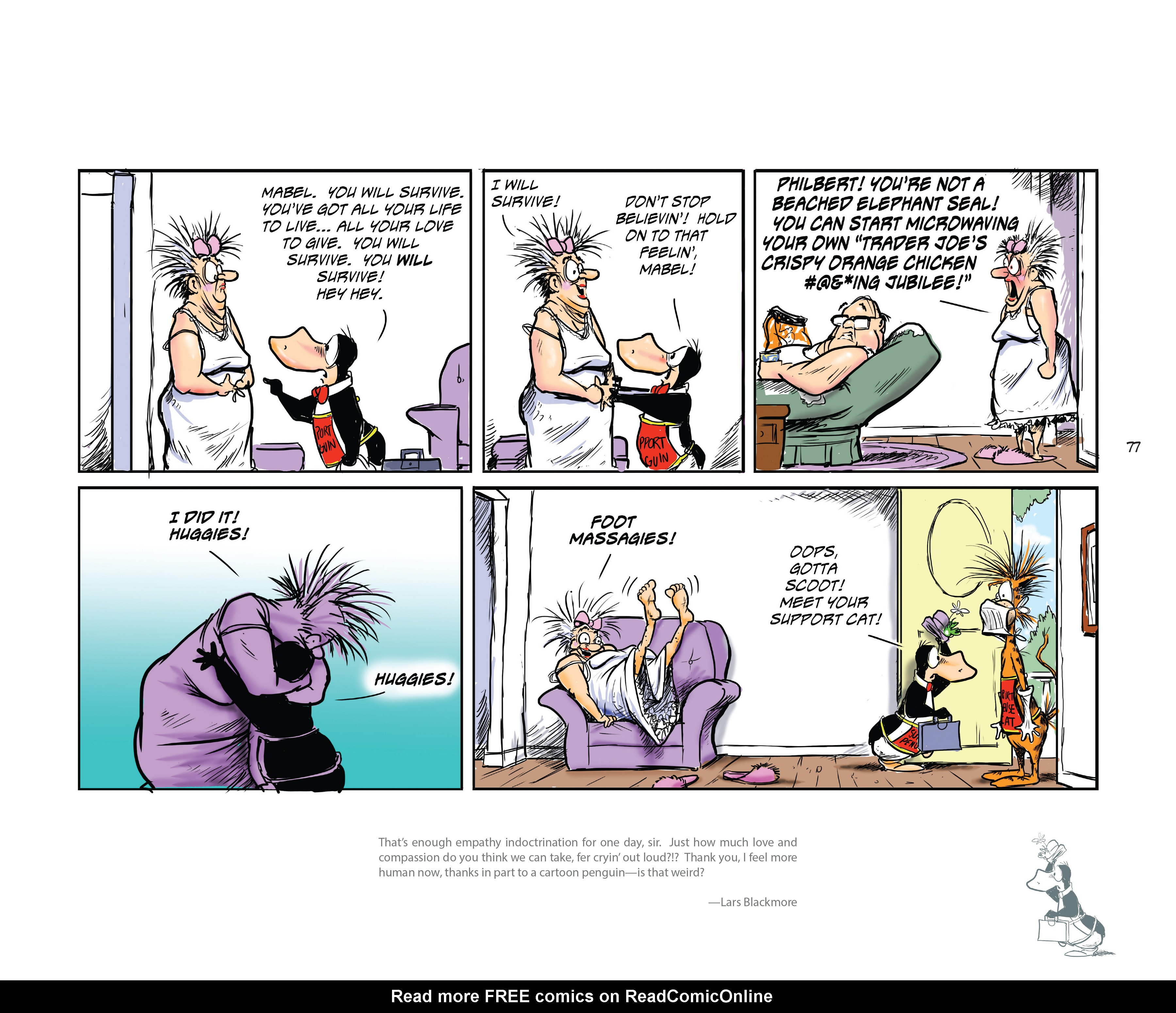 Read online Bloom County Episode XI: A New Hope comic -  Issue # Full - 79