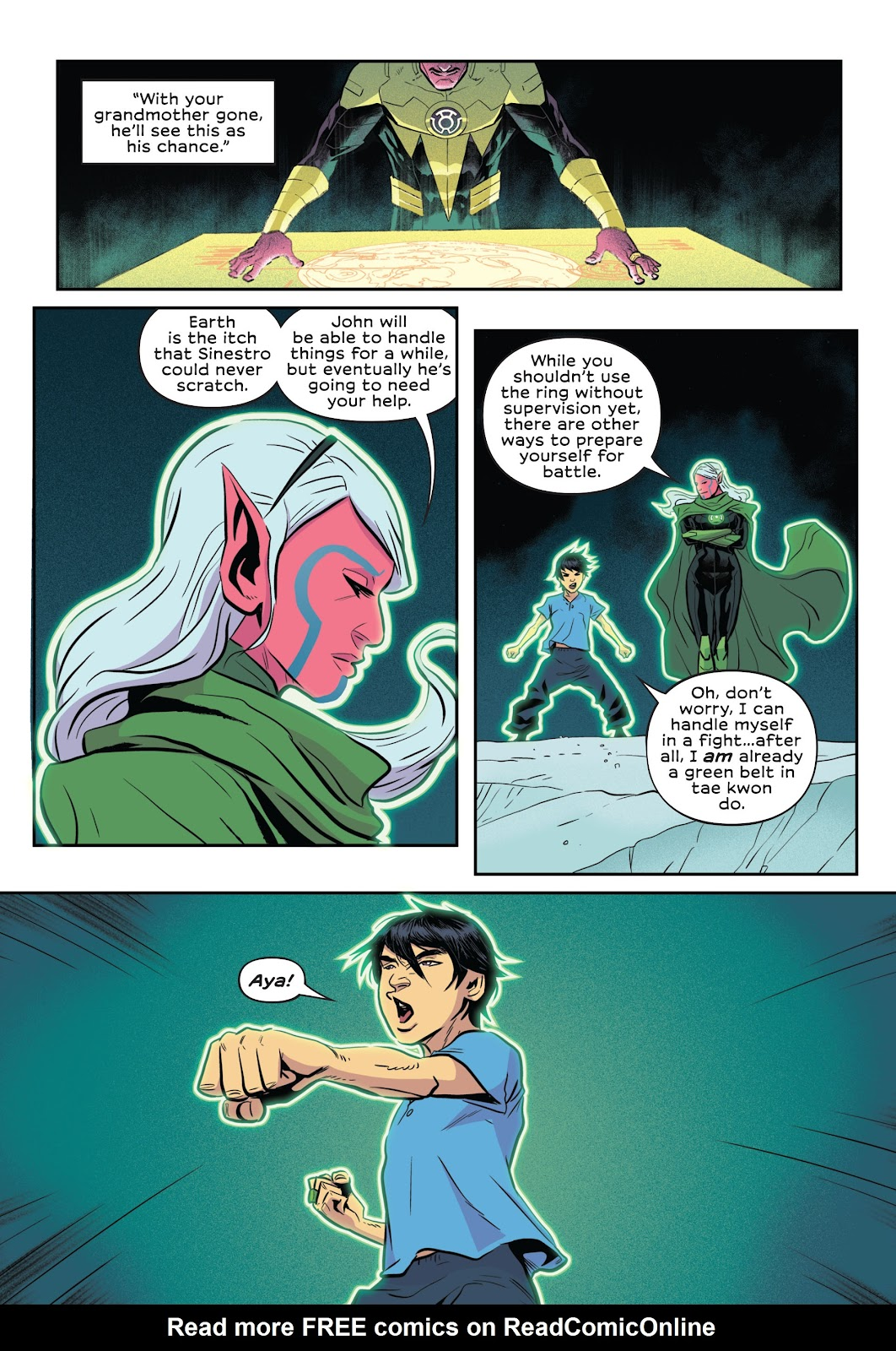 Read online Green Lantern: Legacy comic -  Issue # TPB - 59