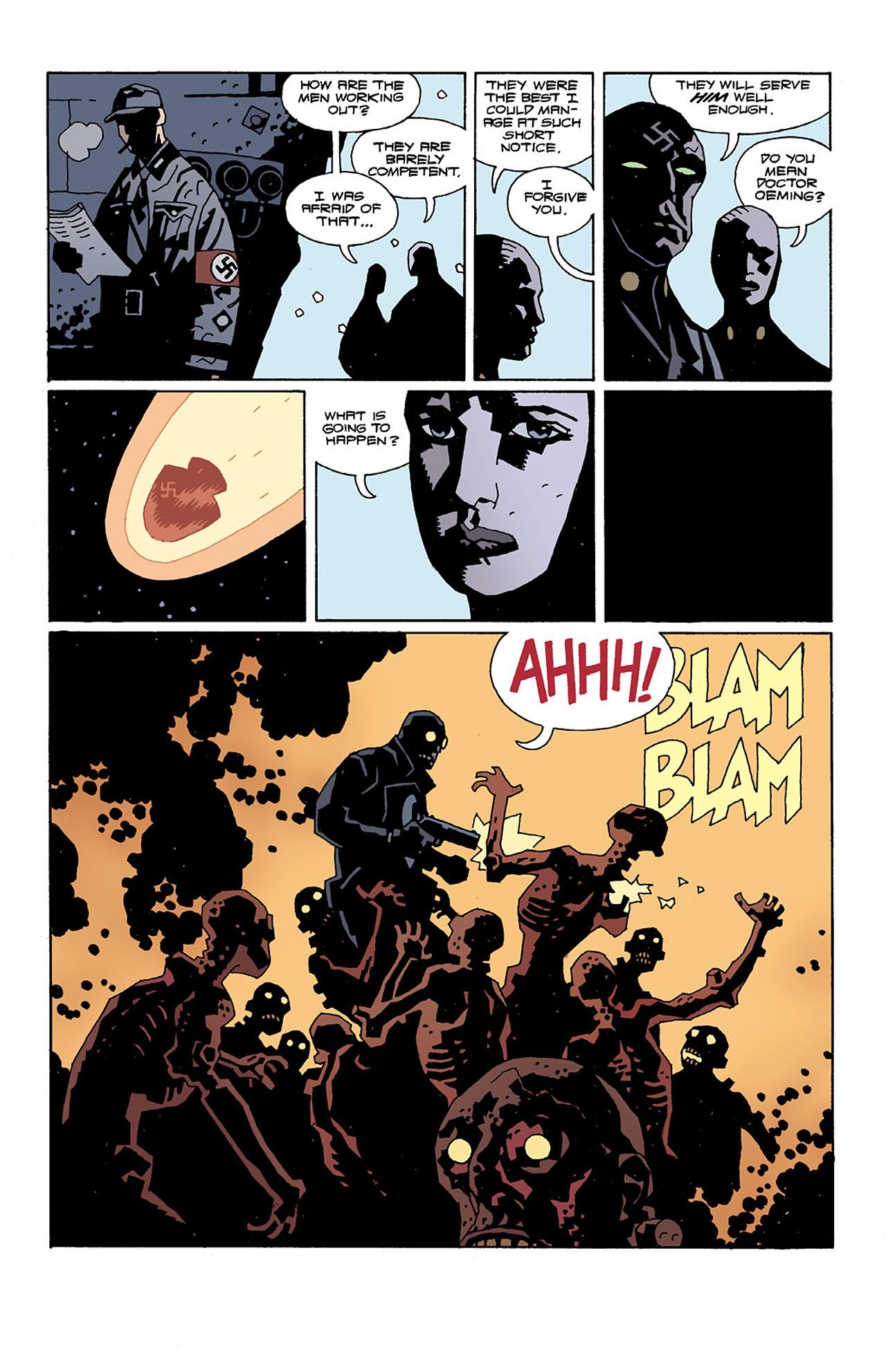 Read online Hellboy: Conqueror Worm comic -  Issue #2 - 18