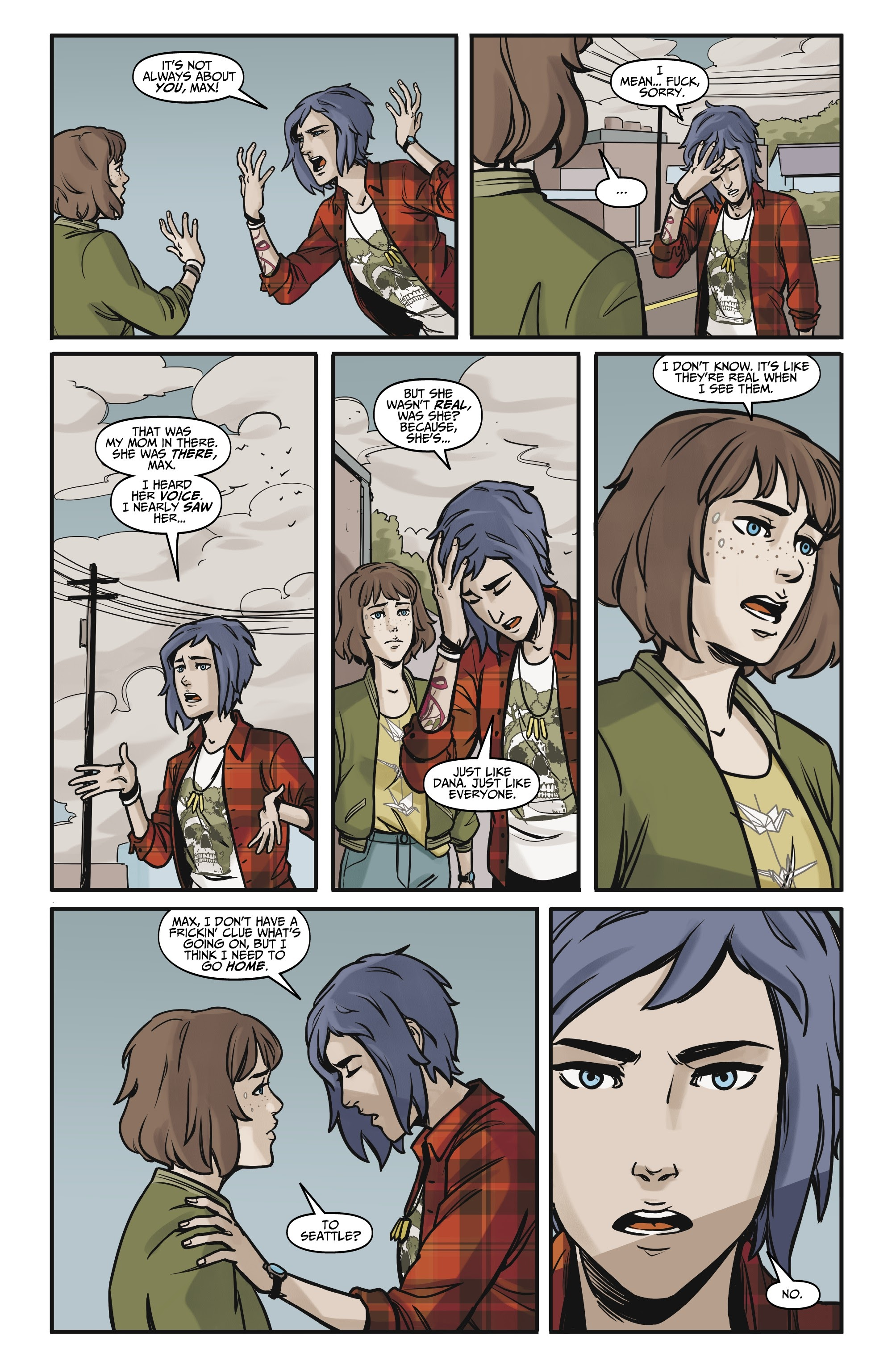 Life Is Strange Comics Scan : strange, comics, Strange, Comics, Online