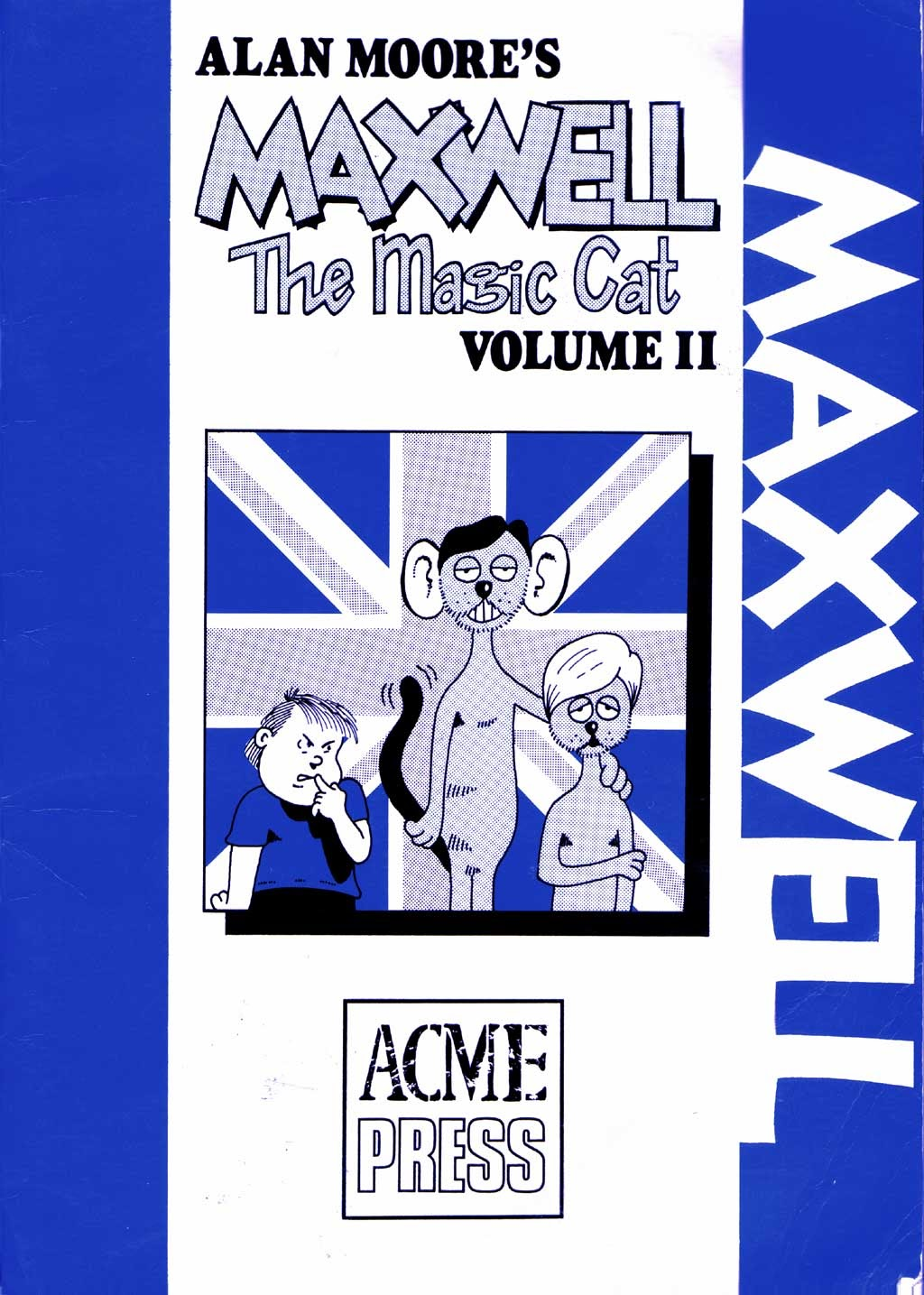 Read online Alan Moore's Maxwell the Magic Cat comic -  Issue #2 - 1