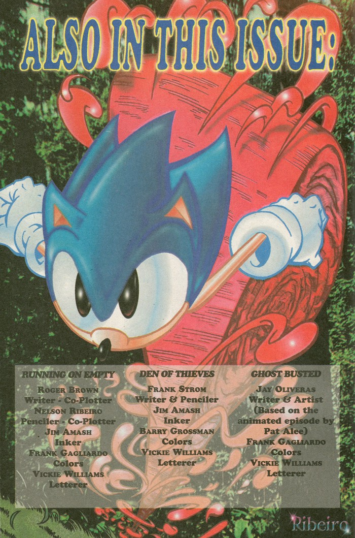 Read online Sonic Super Special comic -  Issue #8 - Giant special - 3