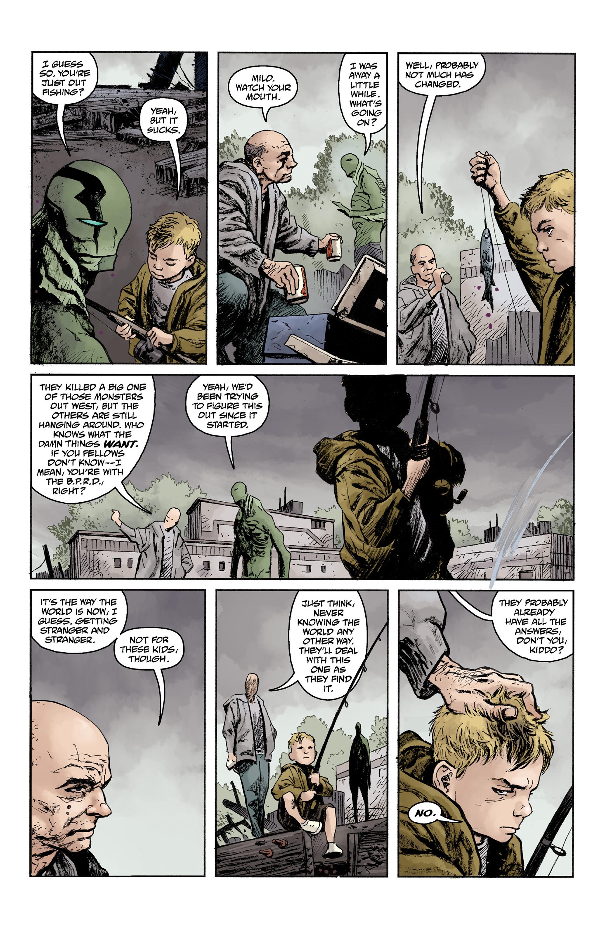 Read online Abe Sapien comic -  Issue #36 - 9