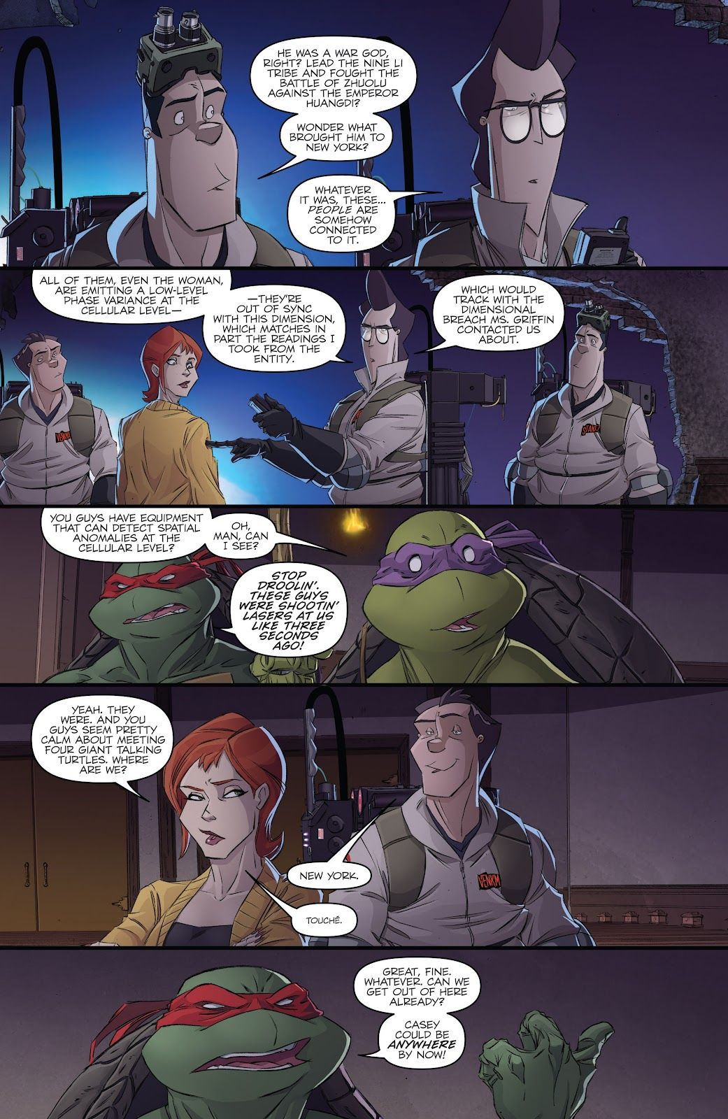 Read online Teenage Mutant Ninja Turtles: The IDW Collection comic -  Issue # TPB 5 (Part 2) - 99