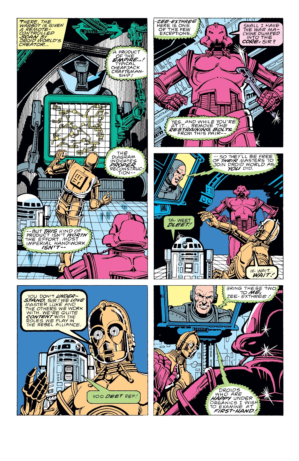 Read online Star Wars Legends: The Original Marvel Years - Epic Collection comic -  Issue # TPB 3 (Part 2) - 69