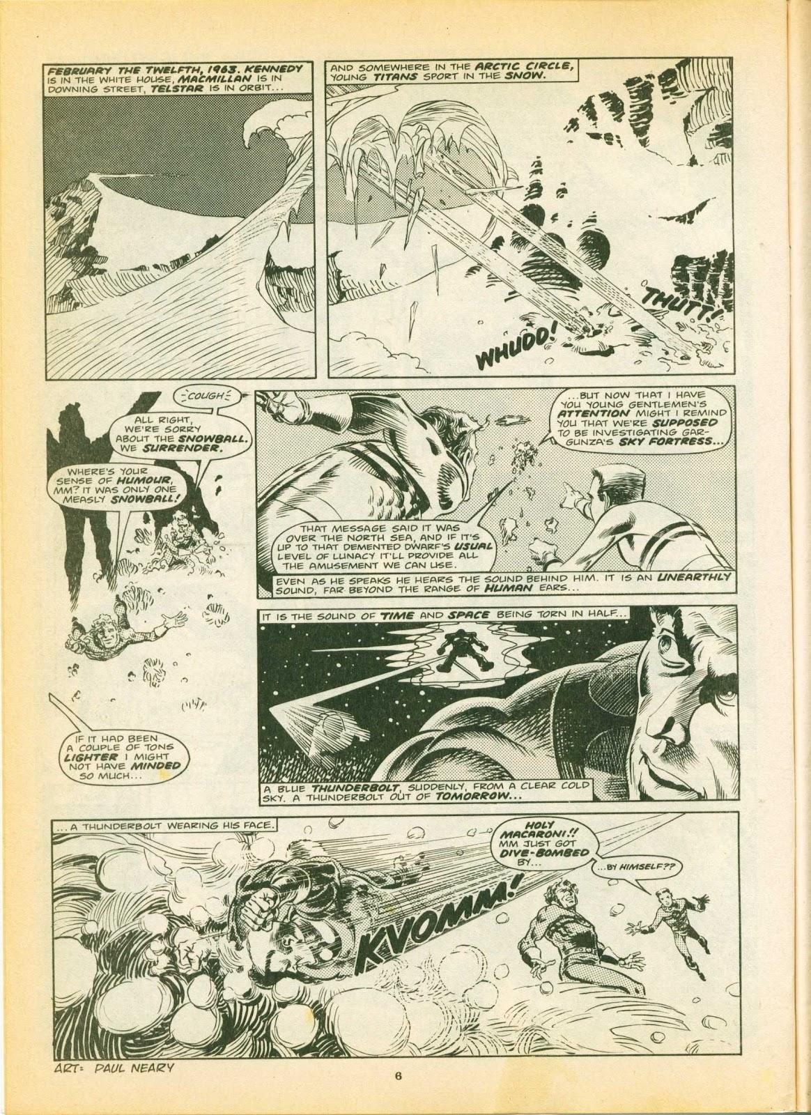 Warrior Issue #4 #5 - English 6