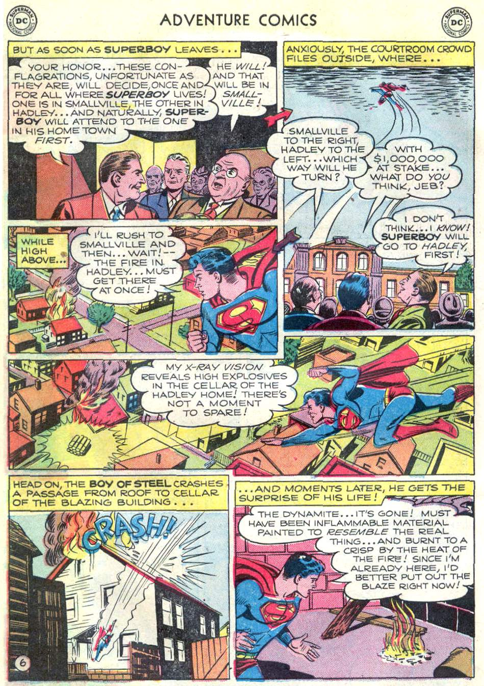 Read online Adventure Comics (1938) comic -  Issue #166 - 7