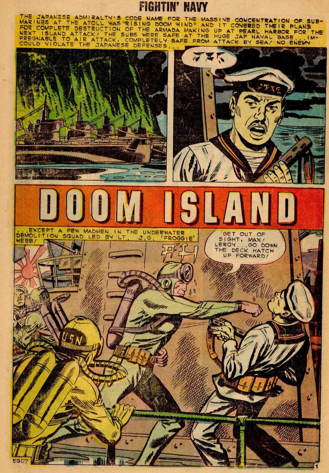 Read online Fightin' Navy comic -  Issue #90 - 12
