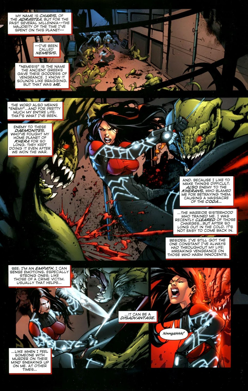Wildcats: Armageddon issue Full - Page 2