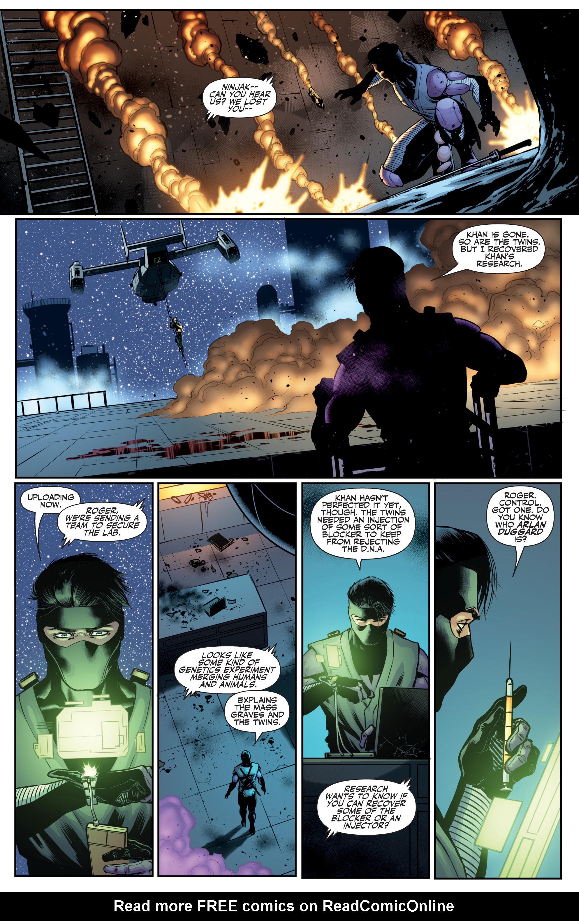 Read online Ninjak (2015) comic -  Issue #27 - 23