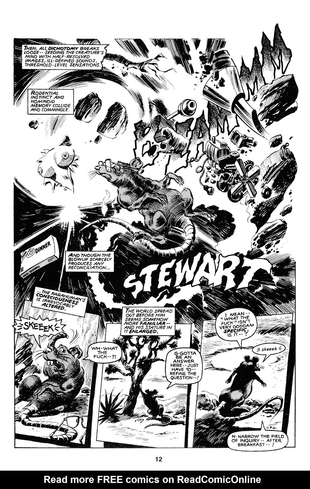 Read online Stewart the Rat comic -  Issue # Full - 14