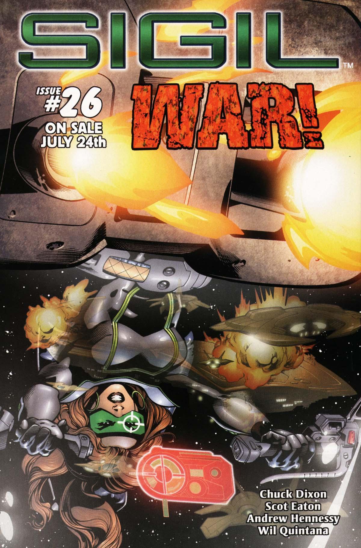 Read online Sigil (2000) comic -  Issue #25 - 34