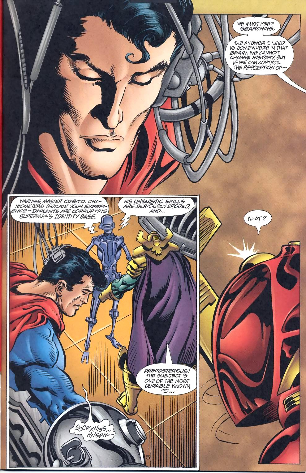 Read online Adventures of Superman (1987) comic -  Issue #570 - 7