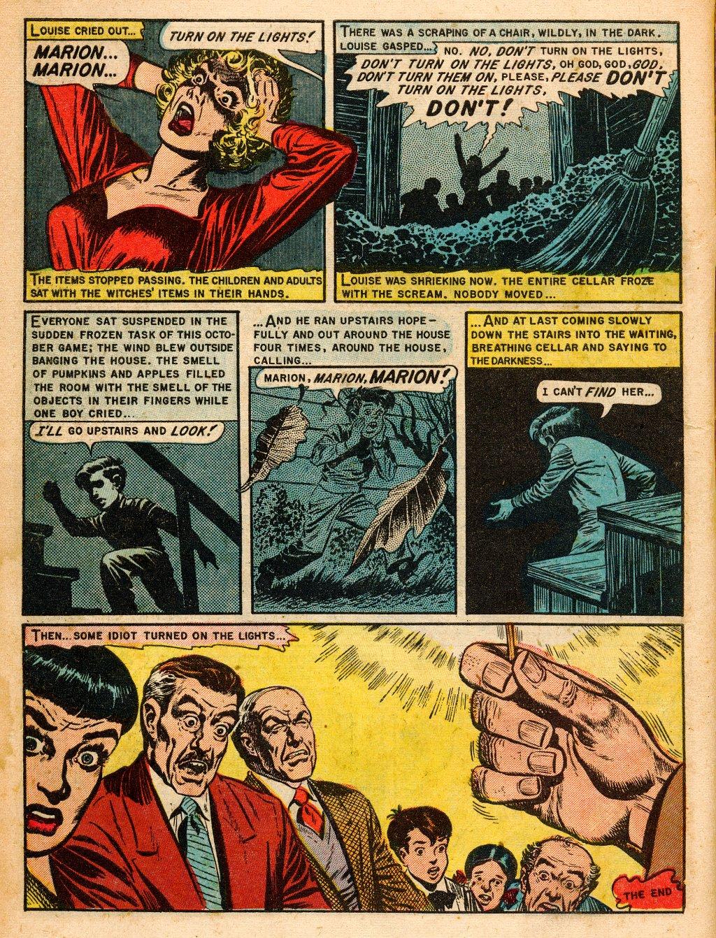 Read online Shock SuspenStories comic -  Issue #9 - 10