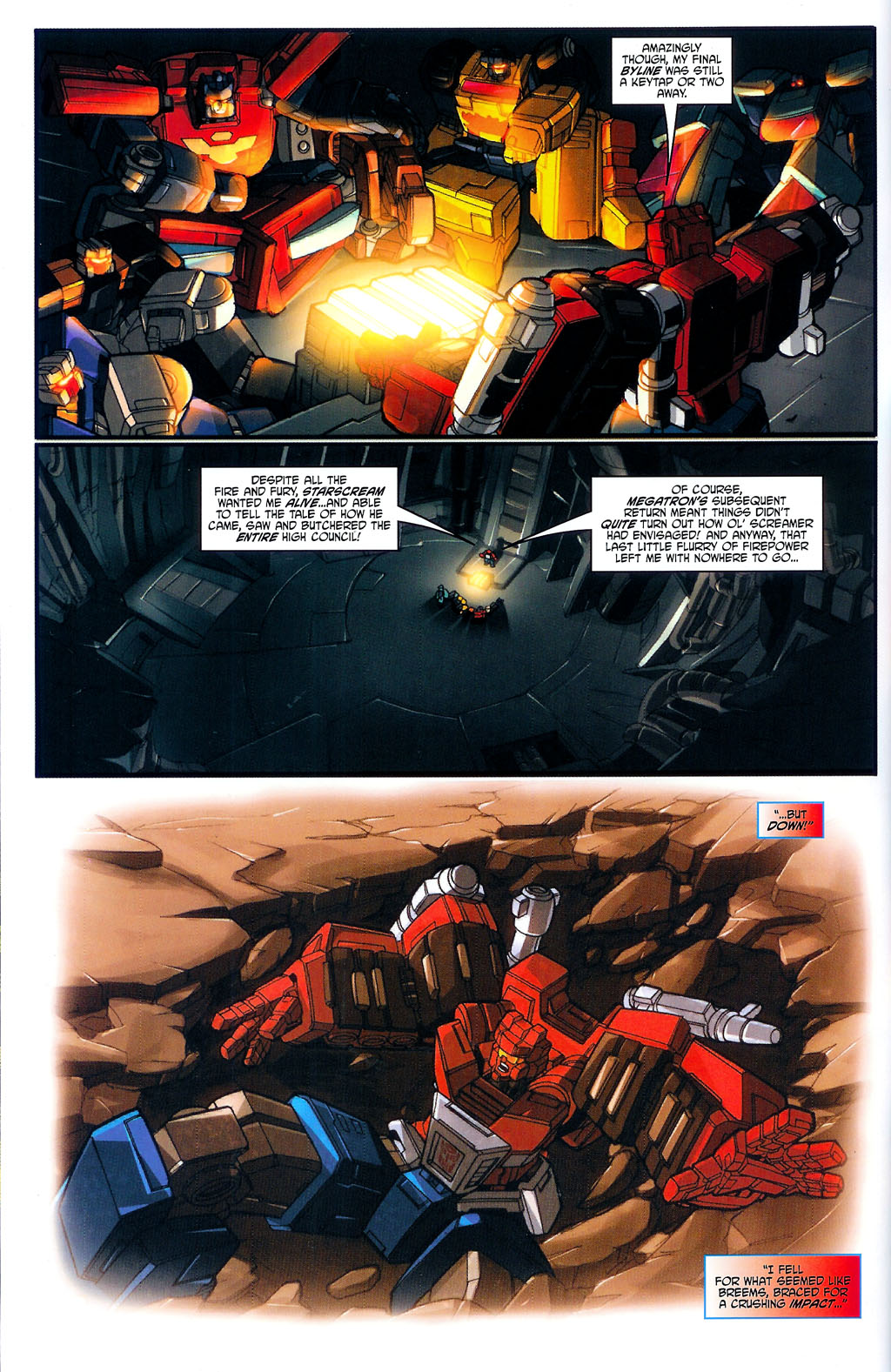 """Read online Transformers War Within: """"The Age of Wrath"""" comic -  Issue #3 - 3"""