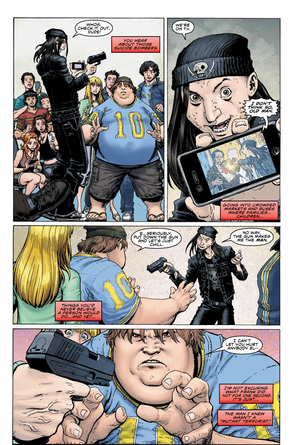Read online Ultimate X comic -  Issue #4 - 14