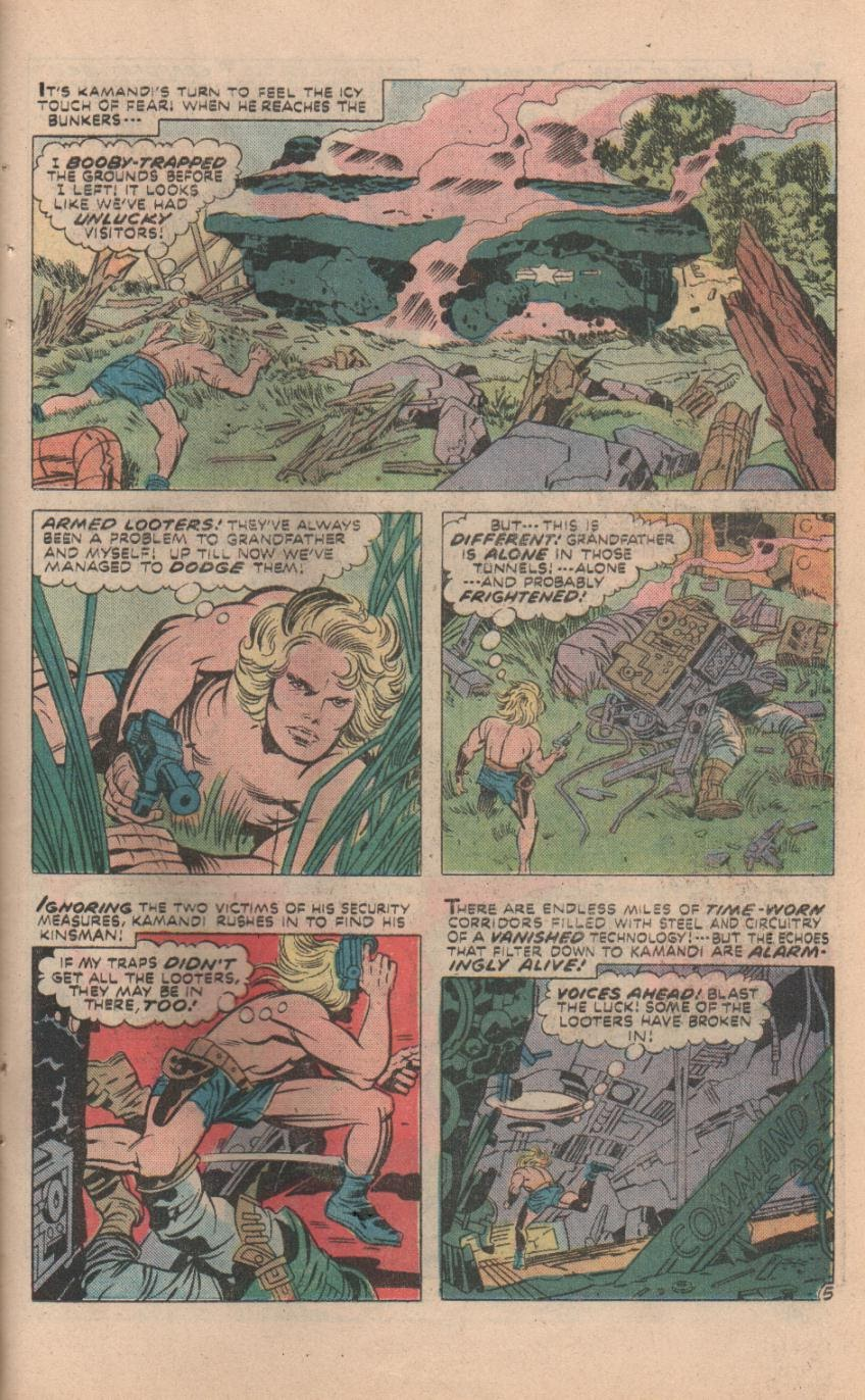 Kamandi, The Last Boy On Earth issue 32 - Page 34