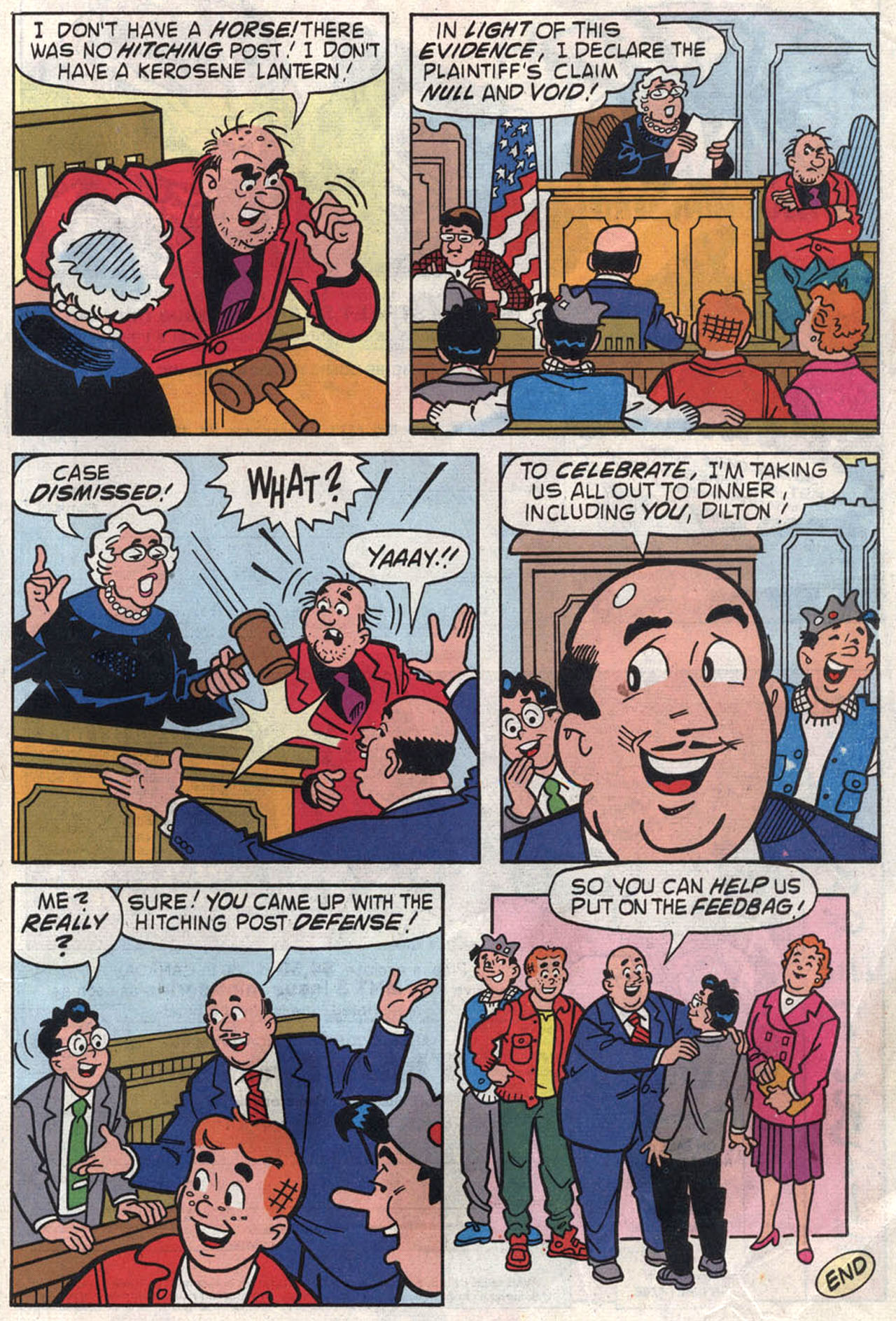 Read online Archie (1960) comic -  Issue #446 - 33