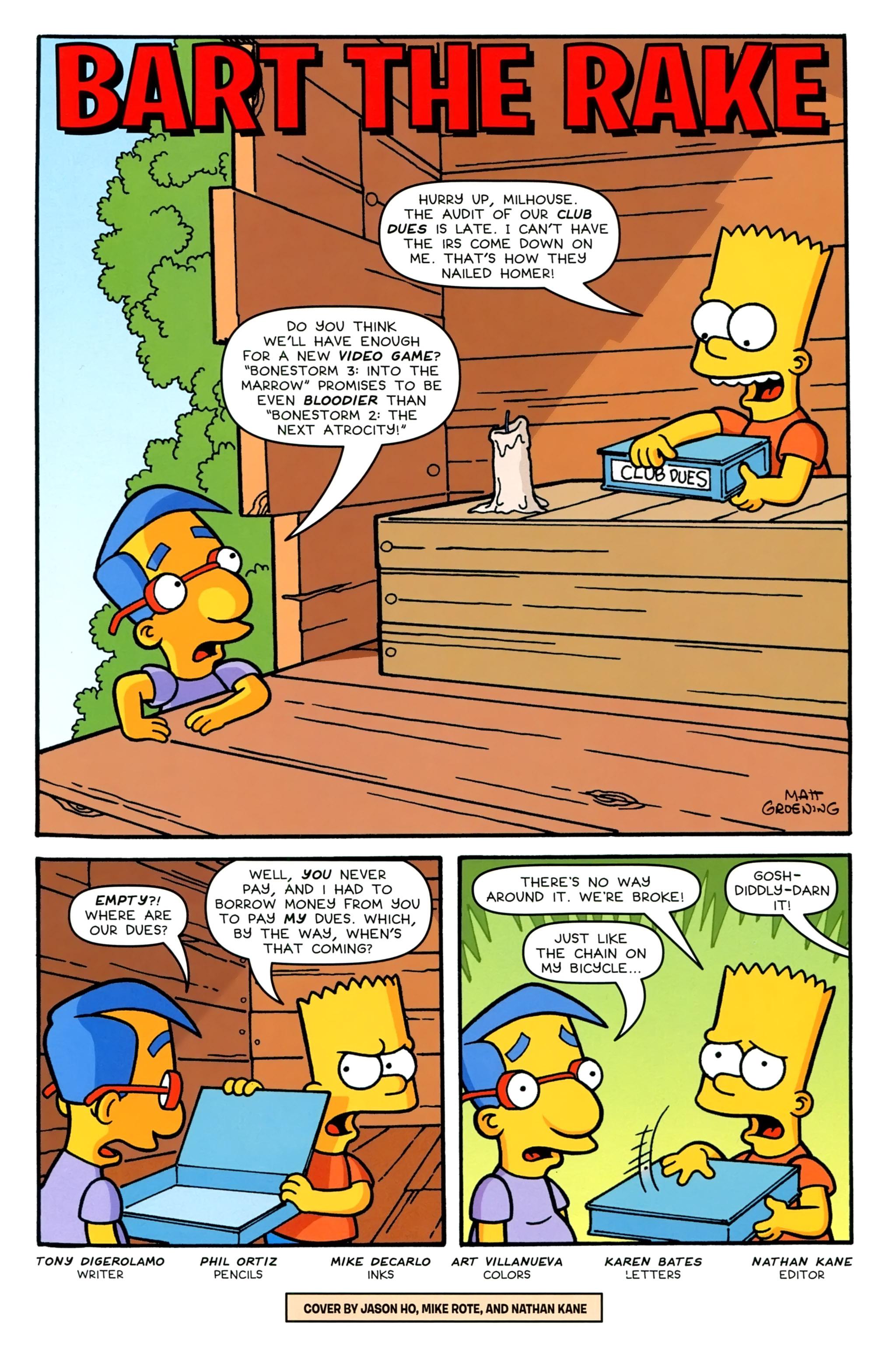 Read online Simpsons Comics comic -  Issue #231 - 3