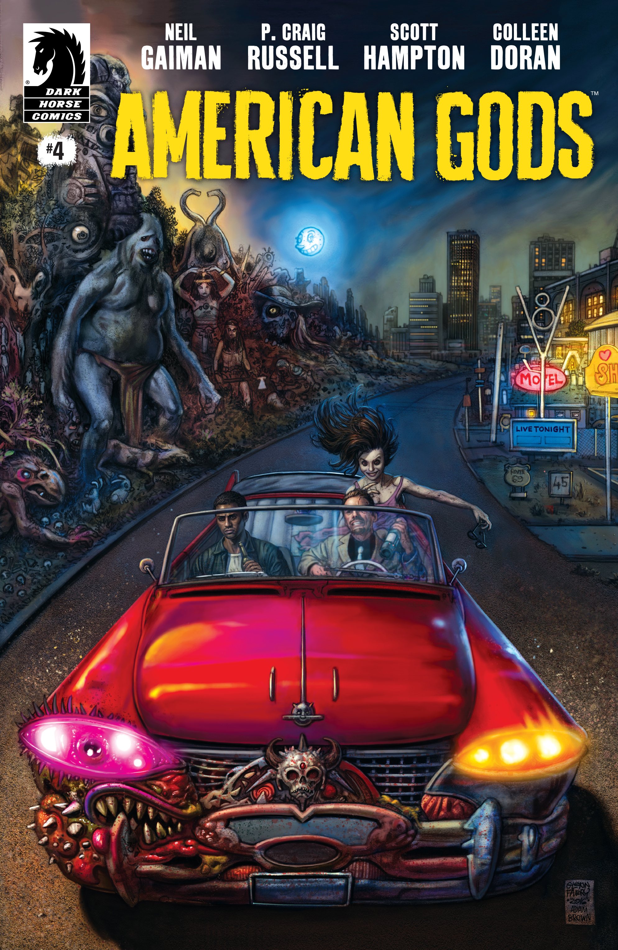 Read online American Gods: Shadows comic -  Issue #4 - 1
