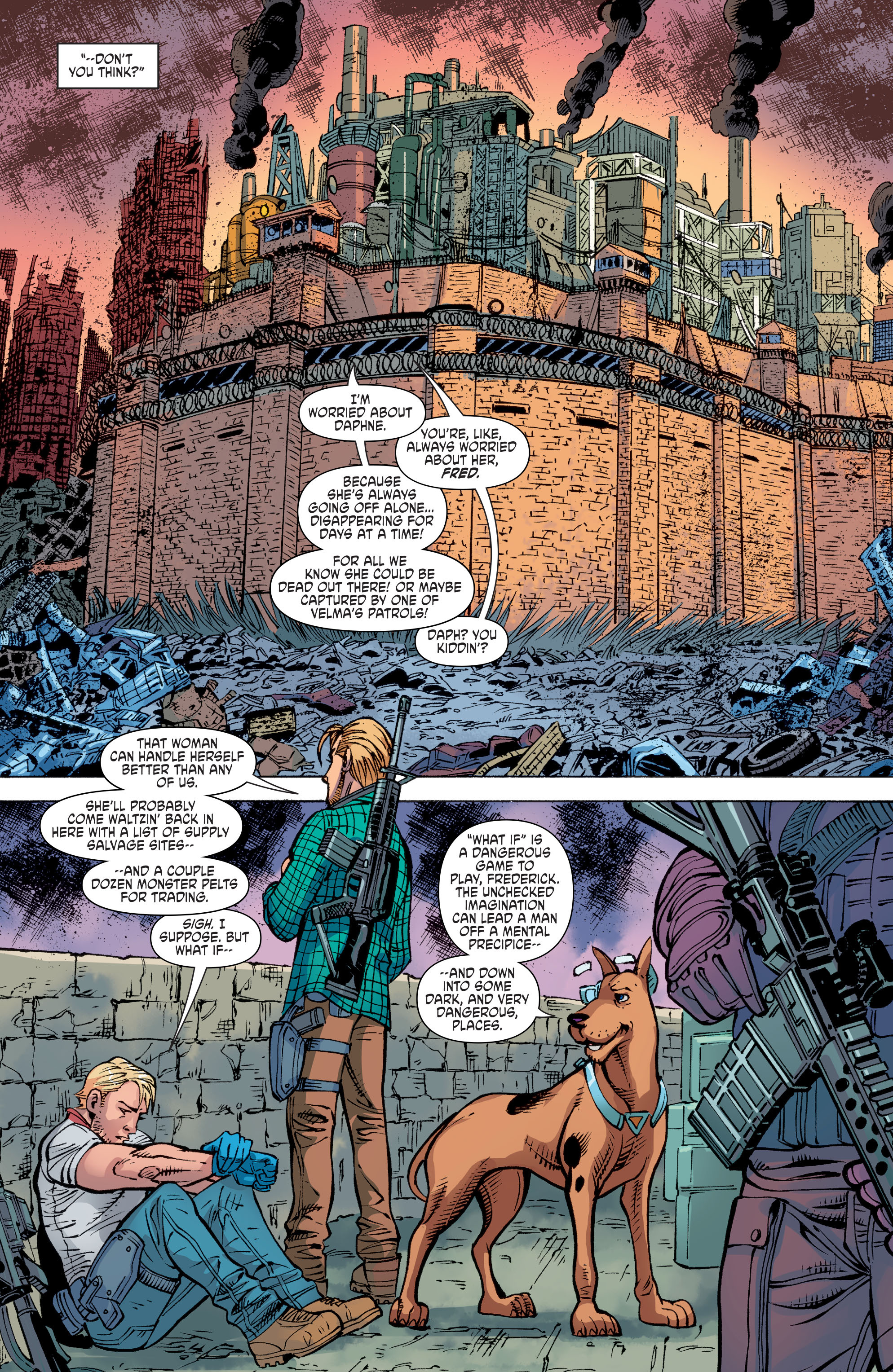 Read online Scooby Apocalypse comic -  Issue #10 - 8