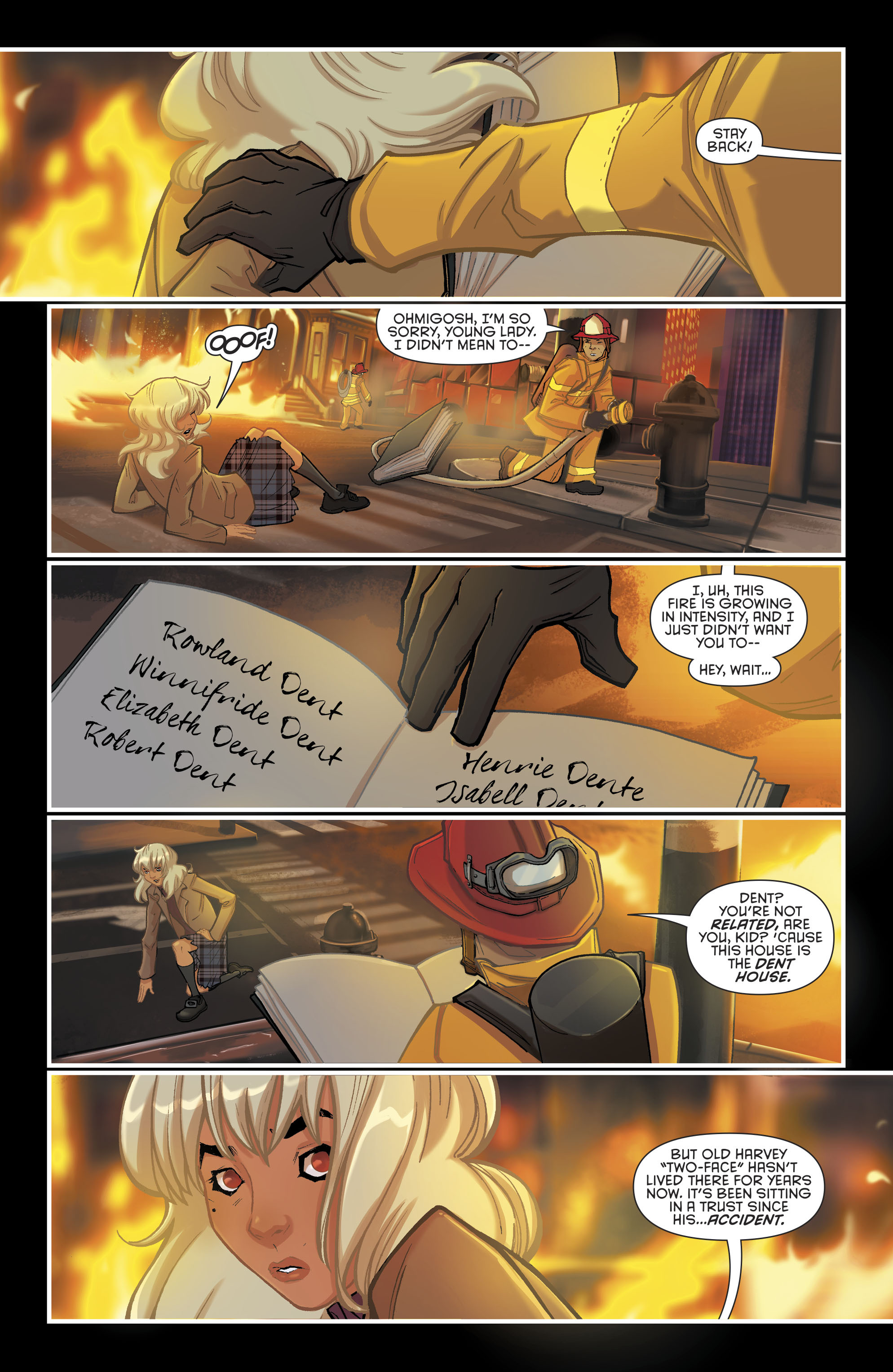 Read online Gotham Academy: Second Semester comic -  Issue #9 - 3